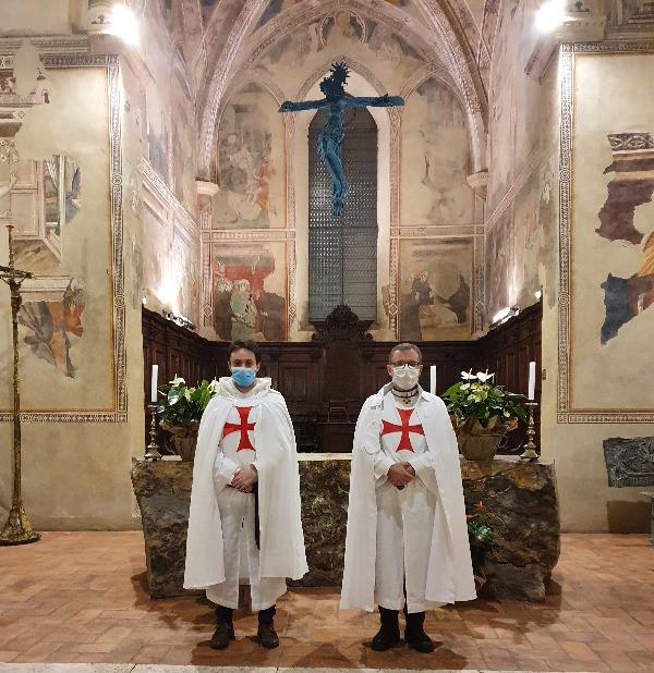 Partecipazione alla Santa Messa presso la Chiesa di San Francesco a Pienza(SI) 31.01.2021