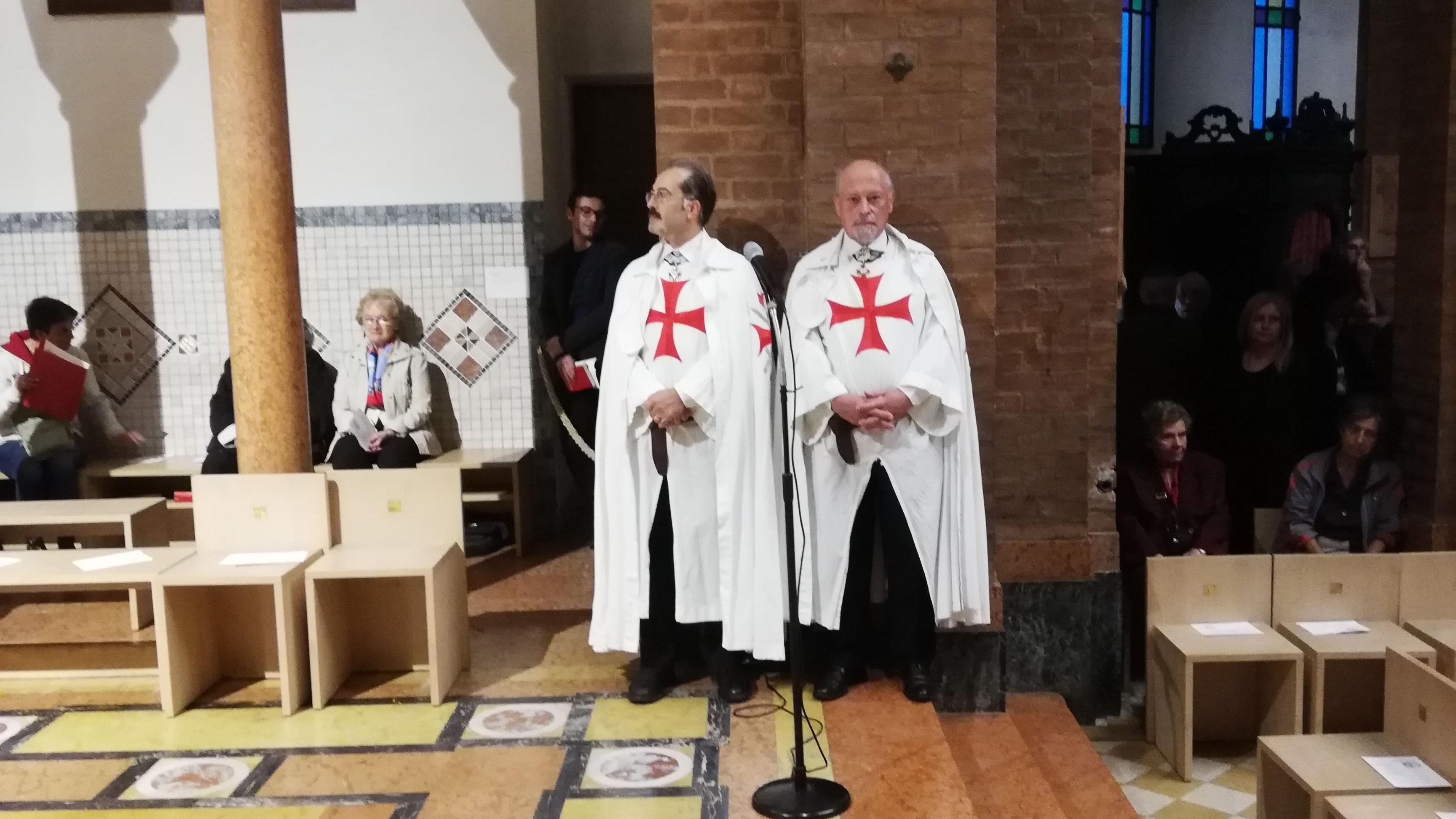 I Templari Cattolici d'Italia partecipano alla Celebrazione Eucaristica per l'accoglienza dell'immagine della Madonna di Fontanellato a Parma