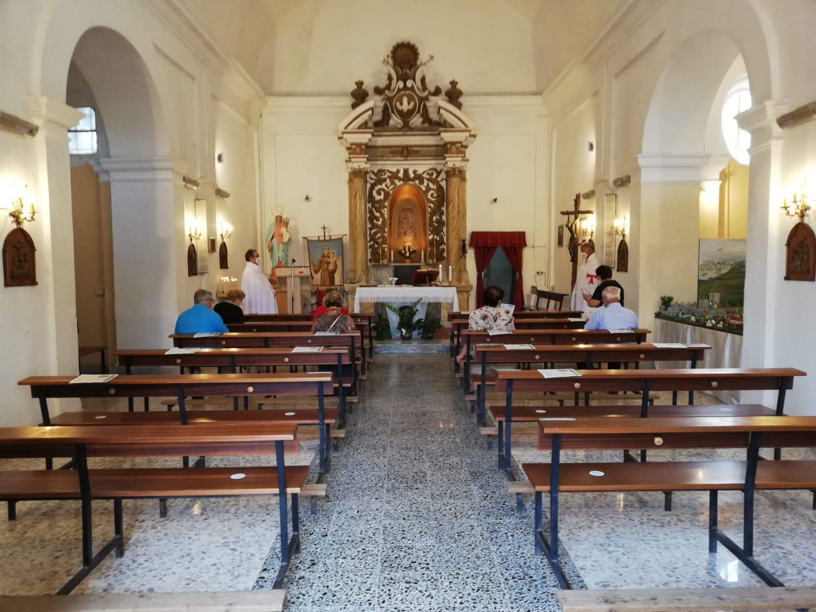 Turno di Custodia nella Chiesa della Madonna del Fossato -Sermoneta Scalo(Lt)- 30 Agosto 2020