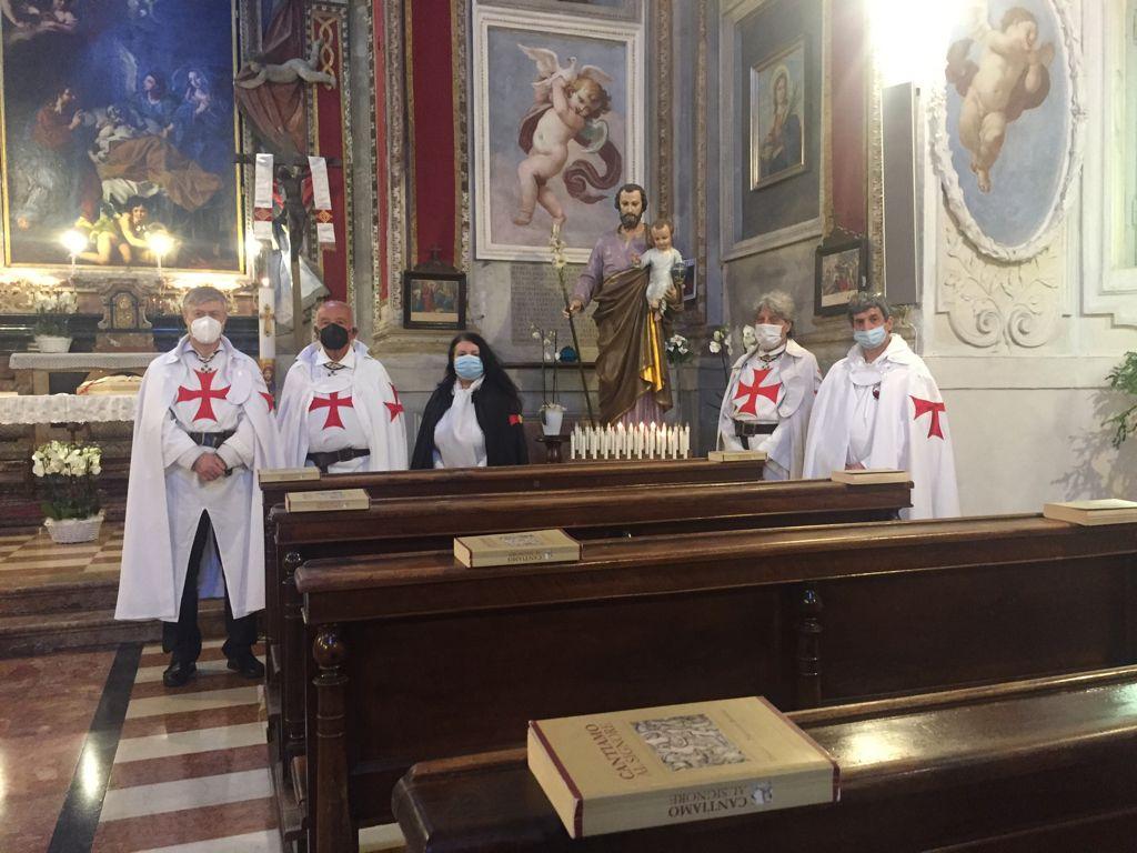 Partecipazione Santa Messa Chiesa di San Giuseppe – Piacenza 01.05.2021