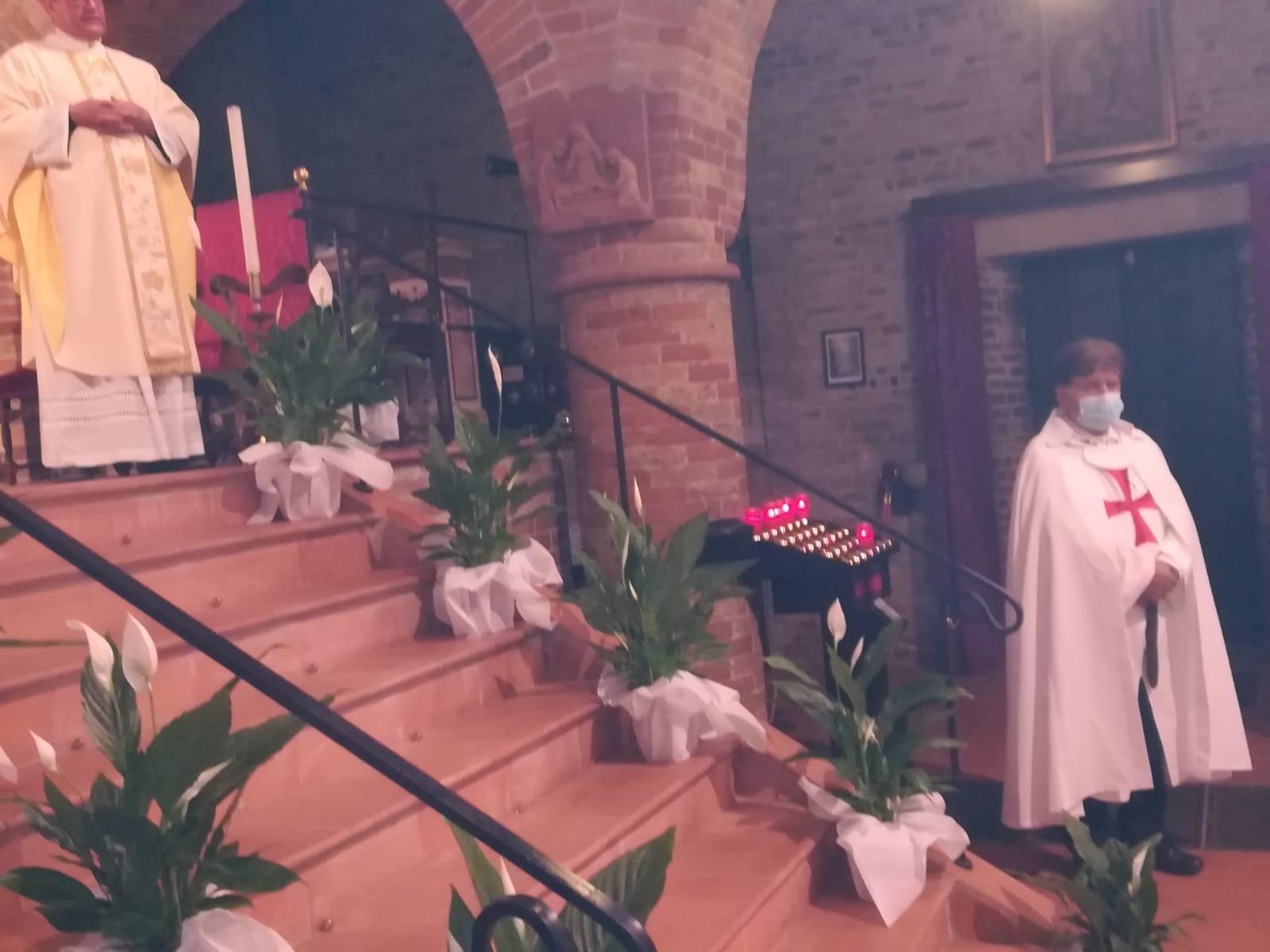 Partecipazione Santa Messa – Santuario Santa Maria Annunciata della Comella – Seniga(BS) 01.05.2021