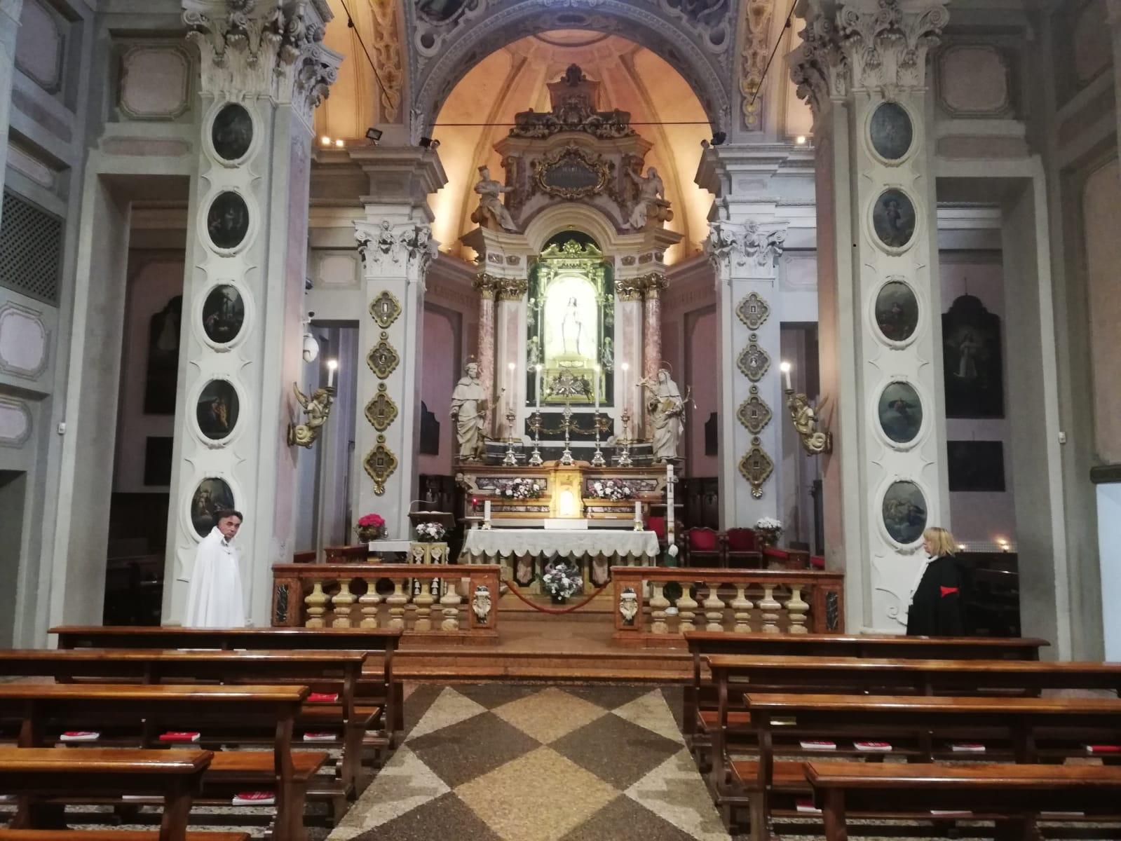Custodia del santuario della Santa Vergine a Fontanellato (Parma)