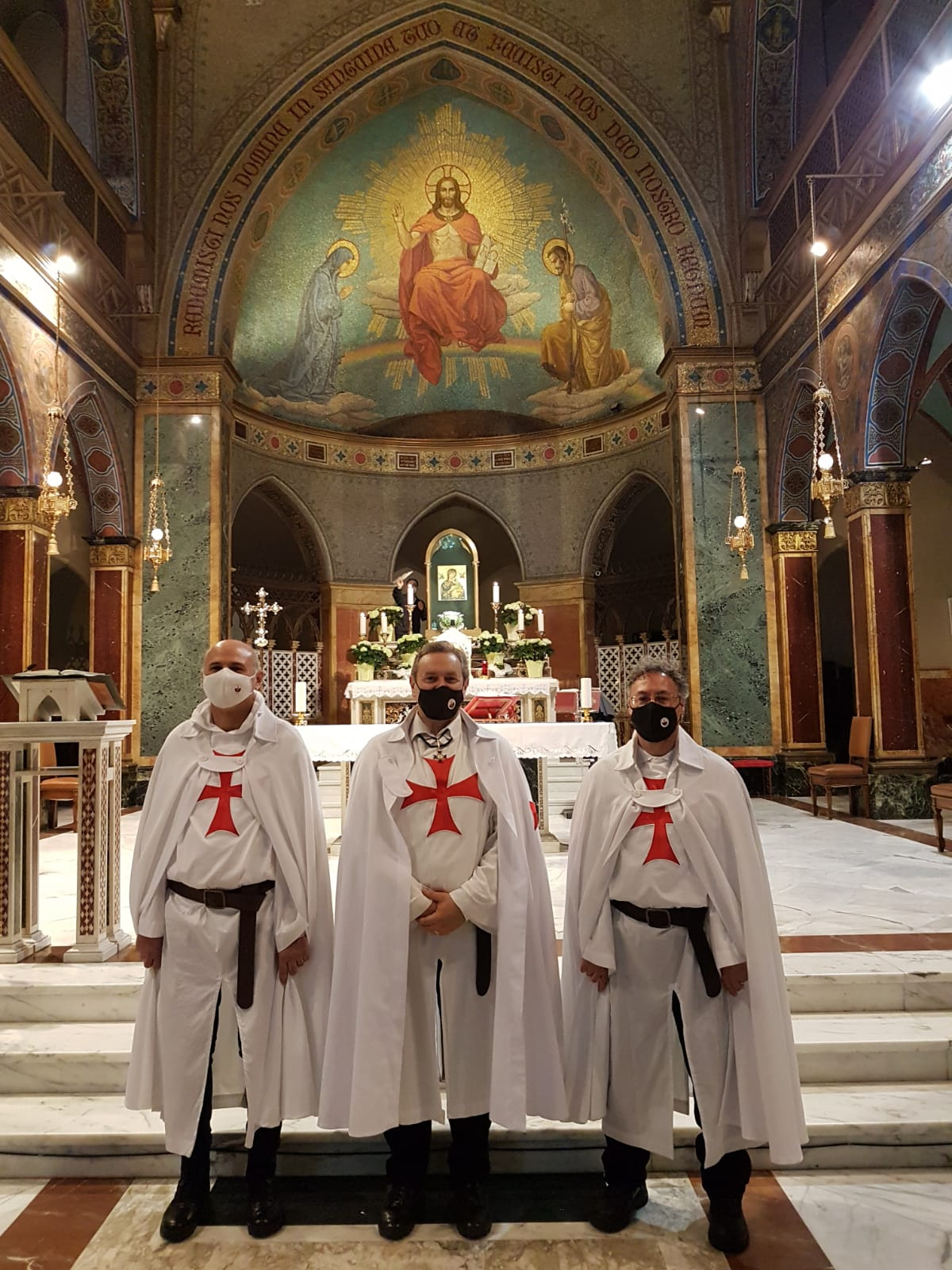 Turno di custodia Chiesa di Sant'Alfonso all'Esquilino – Roma 01.05.2021