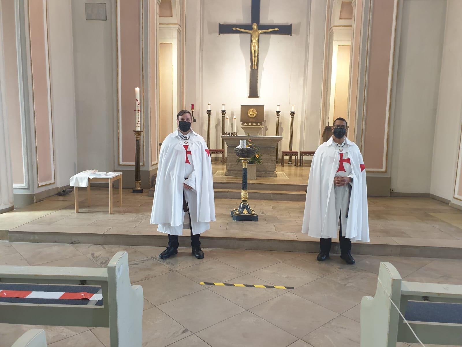 Teilnahme an der Heiligen Messe – St. Ludwigs Kirche – Celle (Niedersachsen – Deutschland) 01.08.2021
