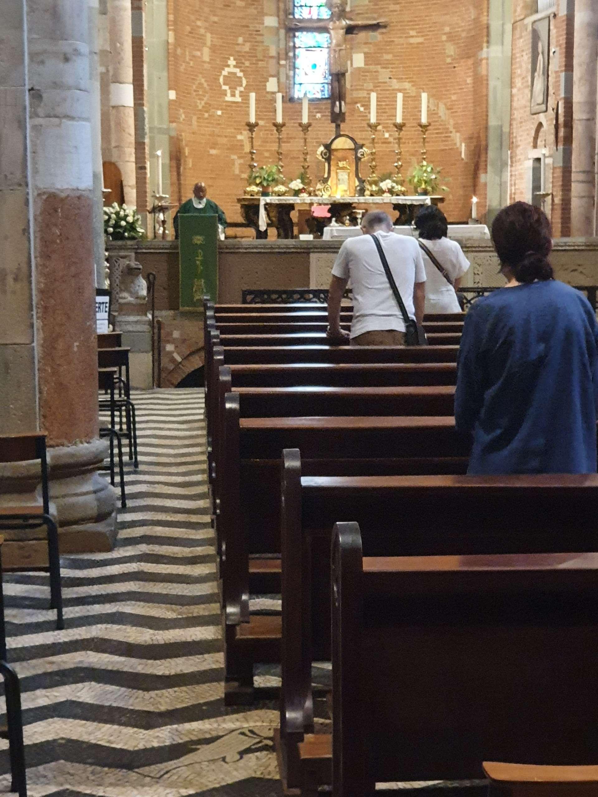 Custodia chiesa di S. Savino Piacenza agosto 2020