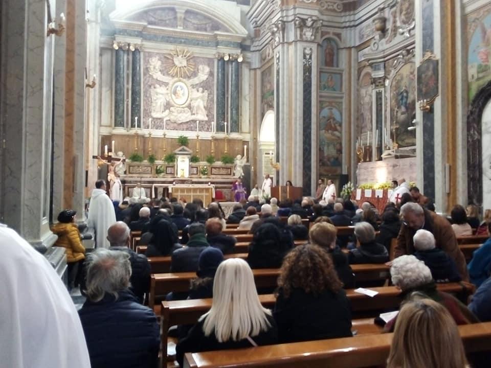 Partecipazione alla S.Messa celebrata nella Basilica della Madonna del Pozzo con Ostensione della Santa Sindone