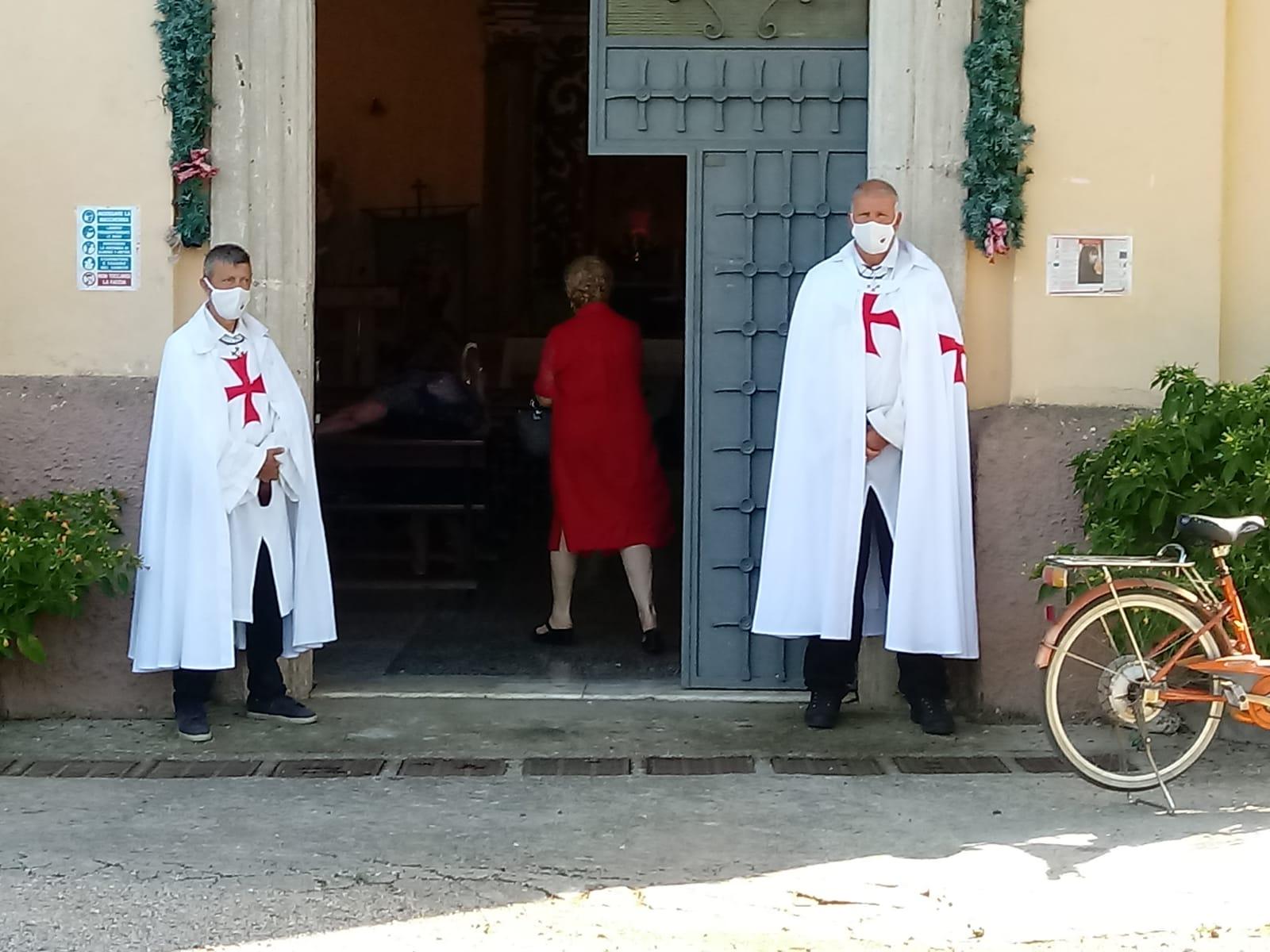 Turno di Custodia nella Chiesa della Madonna del Fossato -Sermoneta Scalo- 02 Agosto 2020