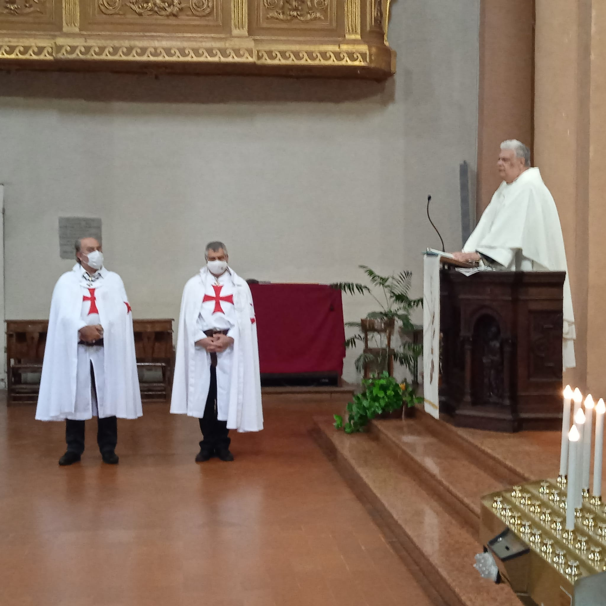 Turno di custodia della Chiesa dell'Annunziata, convento francescano di Cortemaggiore(PC) 02.05.2021