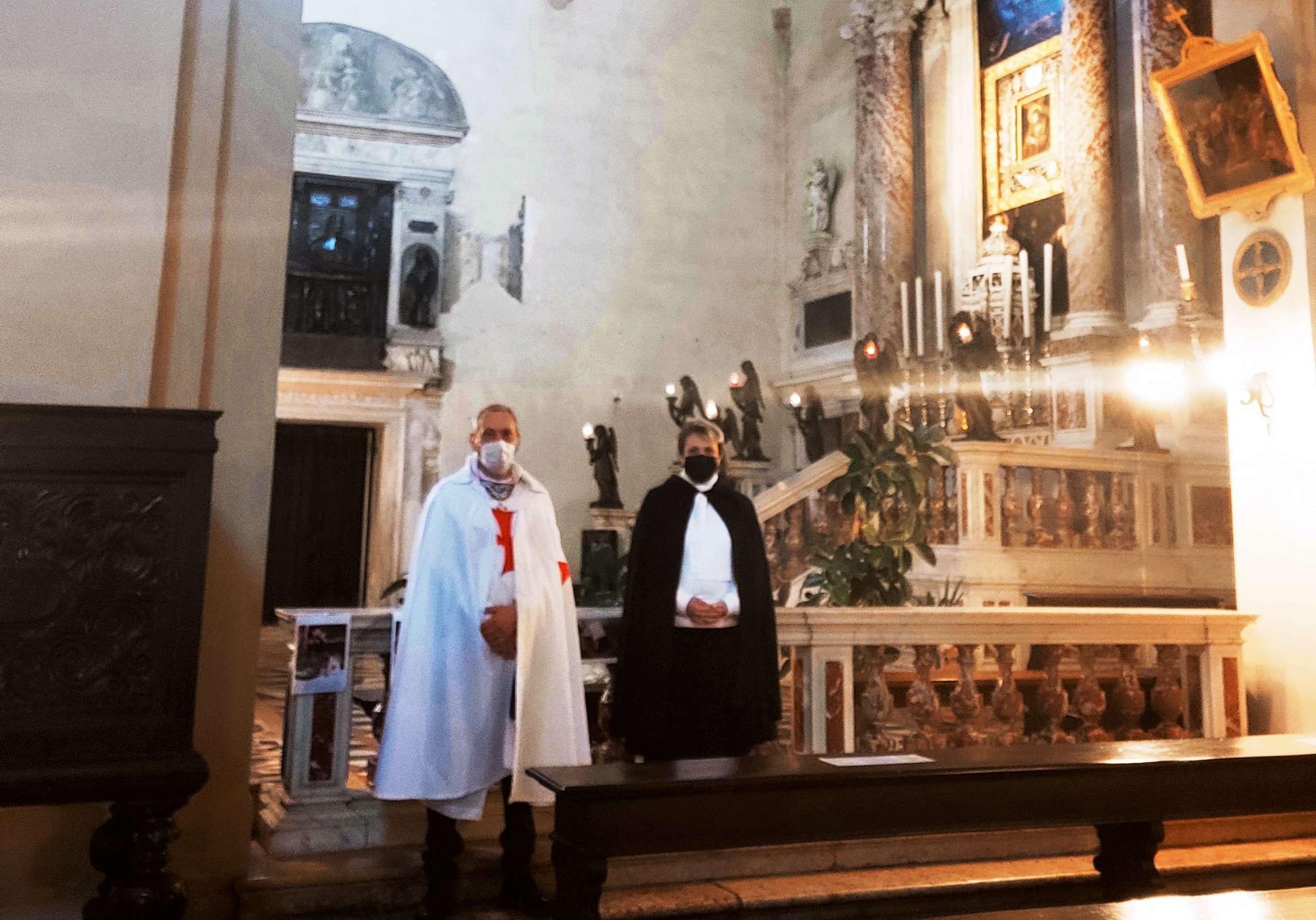 Turno di custodia Chiesa di San Francesco Grande a Padova 02.05.2021