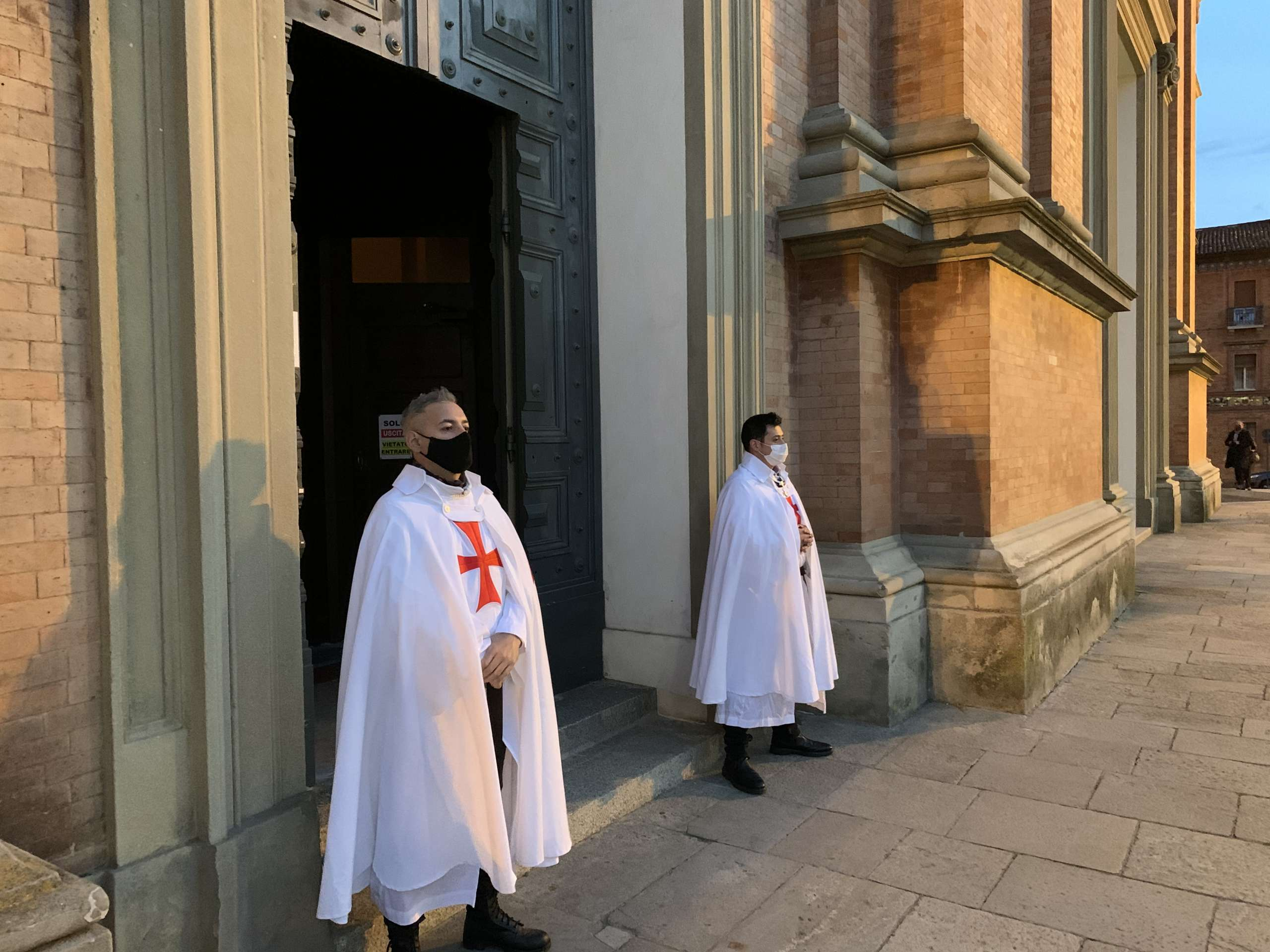 Partecipazione Santa Messa presso il Duomo di San Cassiano a Imola(BO) 03.04.2021