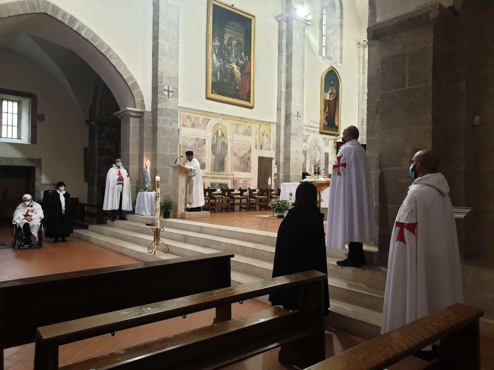 Turno di Custodia nella Chiesa dell'Abbazia di Valvisciolo – Sermoneta(LT) 02.05.2021
