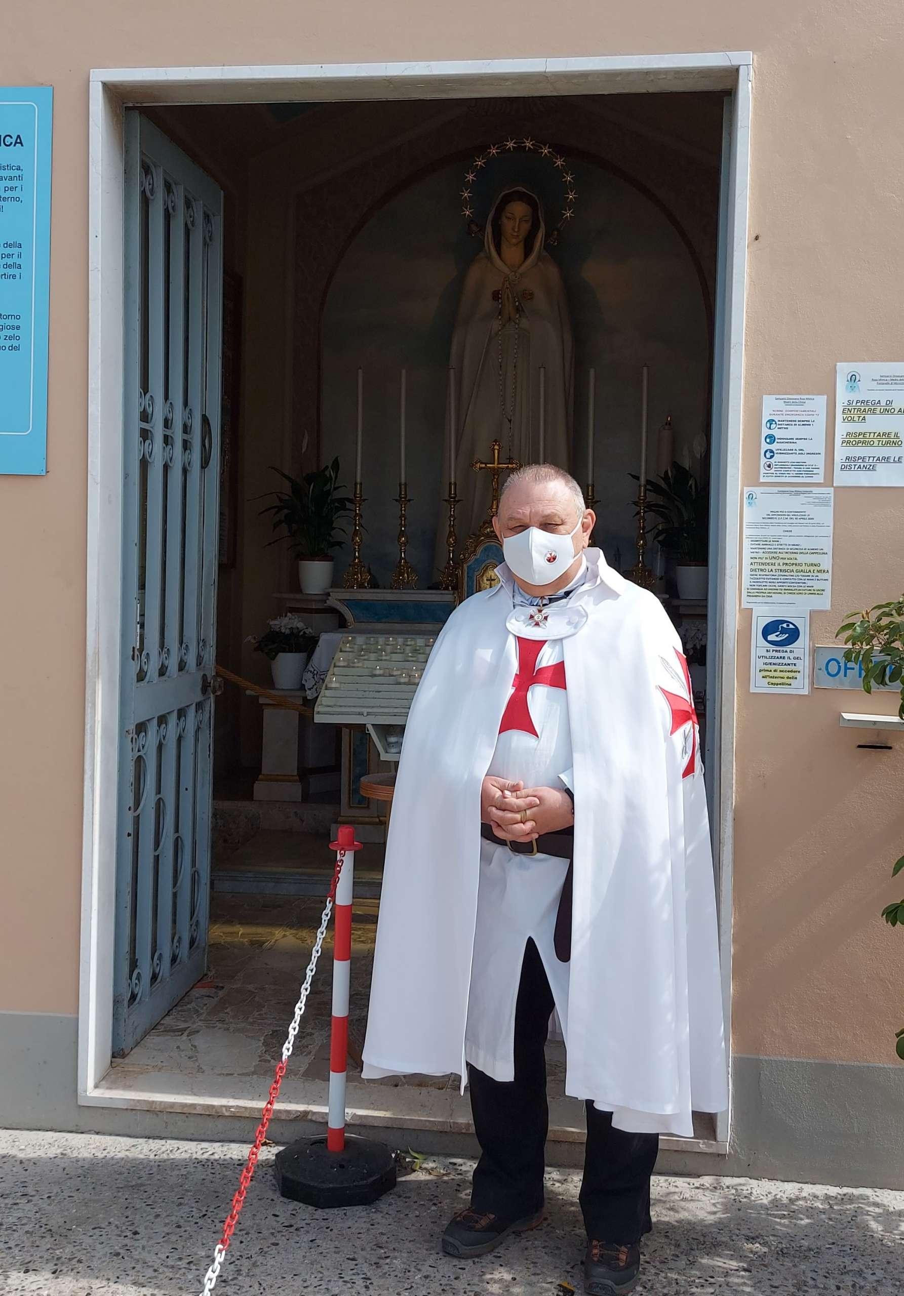 Partecipazione Santa Messa di Risurrezione – Santuario Rosa Mistica delle Fontanelle – Montichiari(BS) 04.04.2021