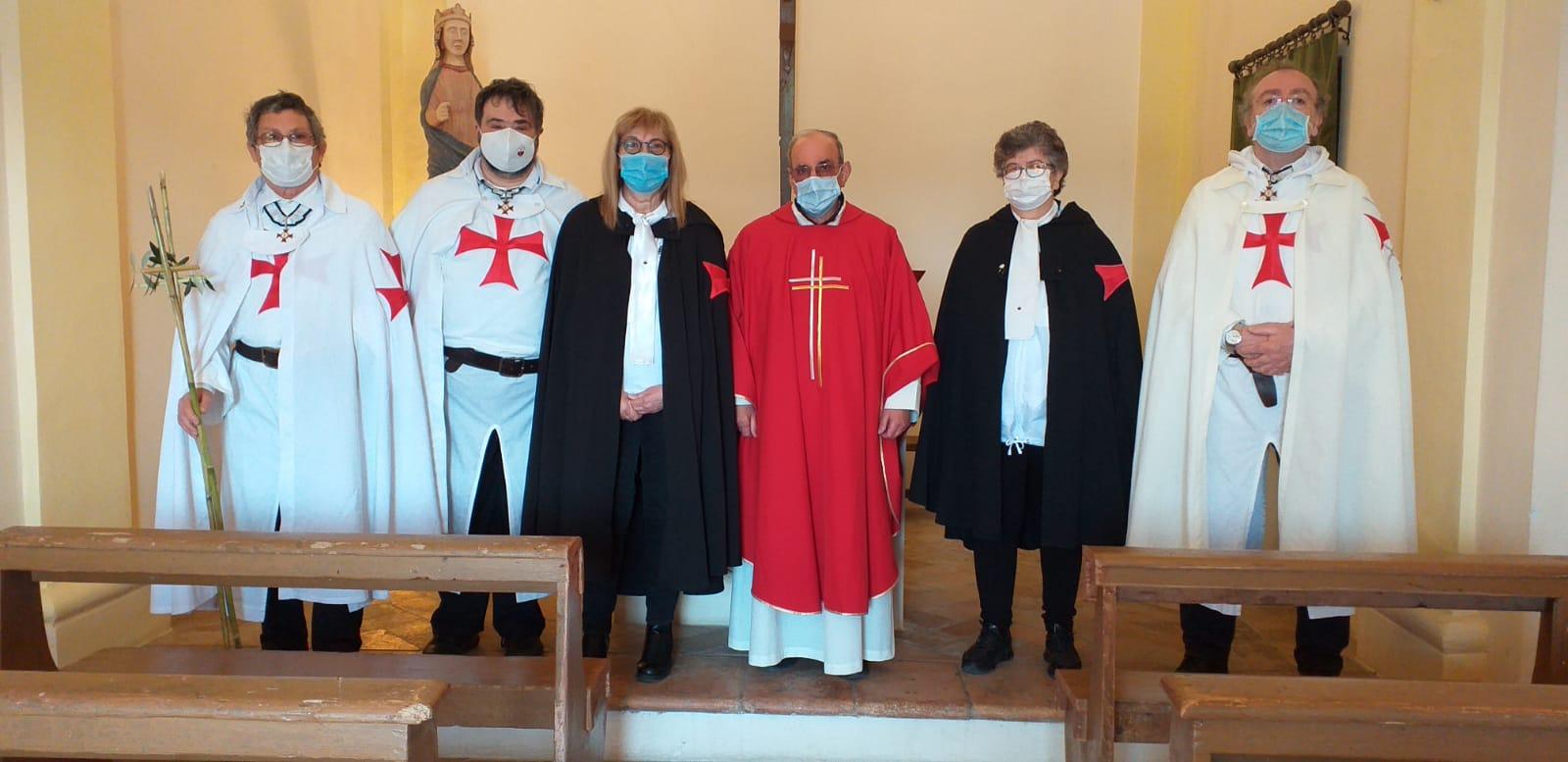 Turno di custodia e assistenza anticovid alla Chiesetta Templare di Santa Croce di Culiano (PG) 03.05.2021
