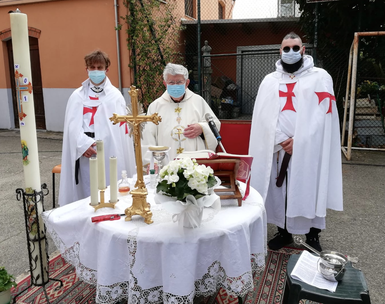 Partecipazione Santa Messa di Pasqua – Chiesa Assunzione di Maria Vergine – Pontesanto(BO) 04.04.2021