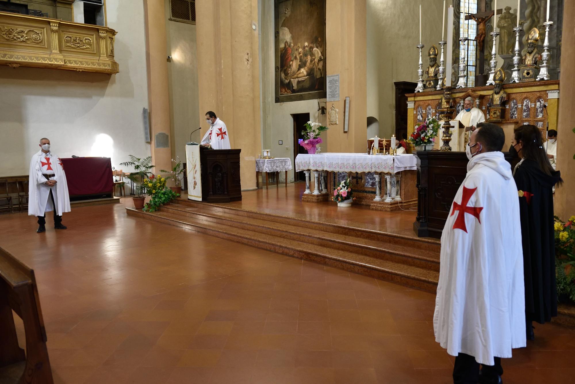 Partecipazione Santa Messa di Pasqua – Chiesa dell'Annunziata – Cortemaggiore(PC) 04.04.2021