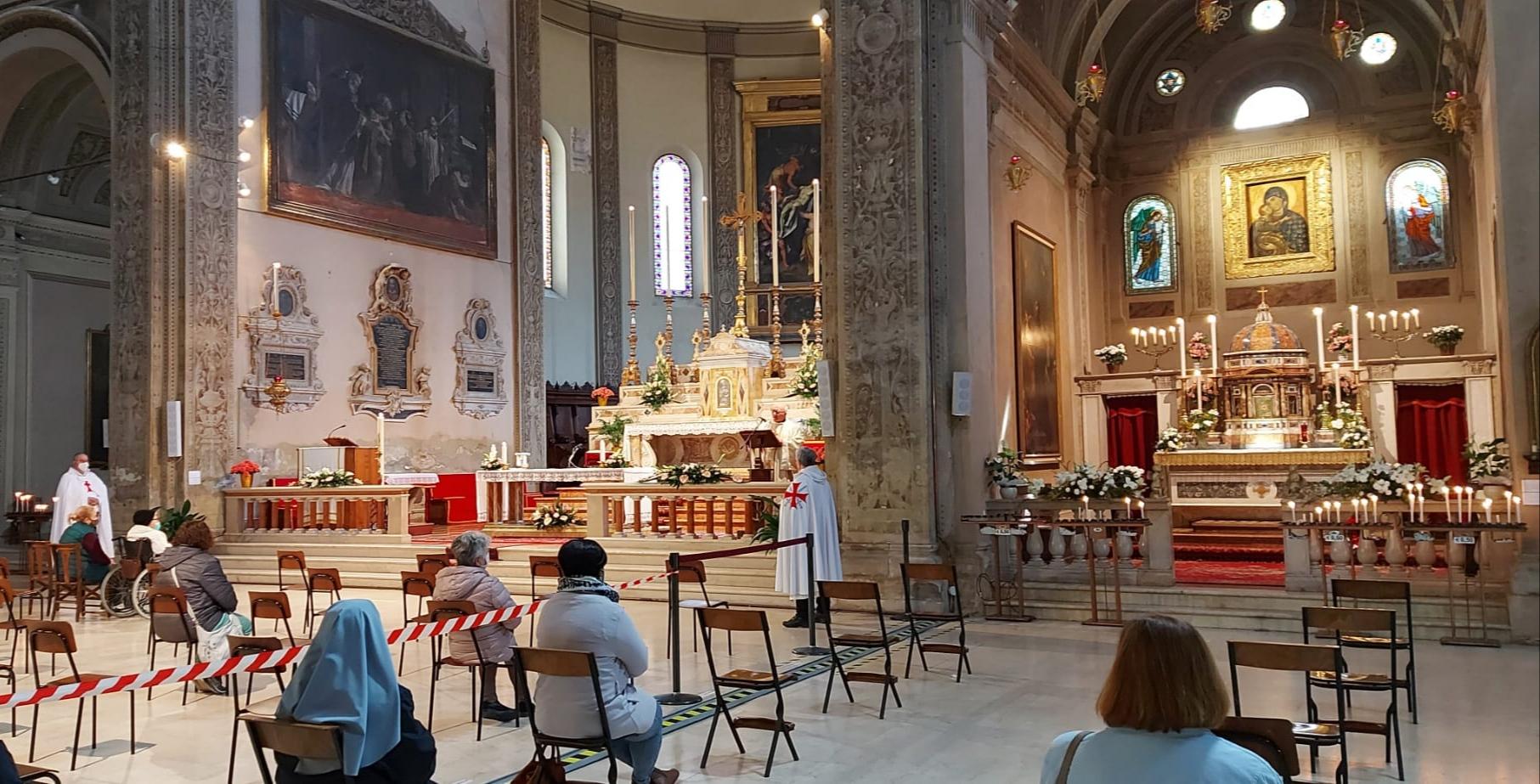 Turno di Custodia  Santa Messa – Basilica di San Francesco a Ferrara 05.04.2021