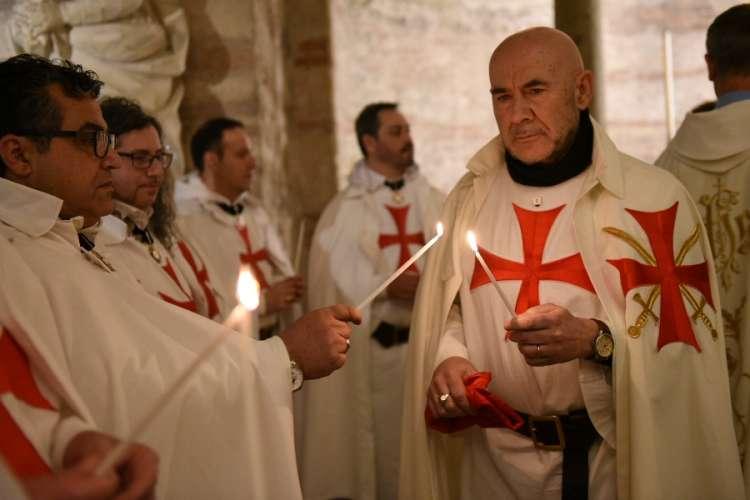 Verona san Fermo Maggiore Templari Cattolici d'Italia Candelora