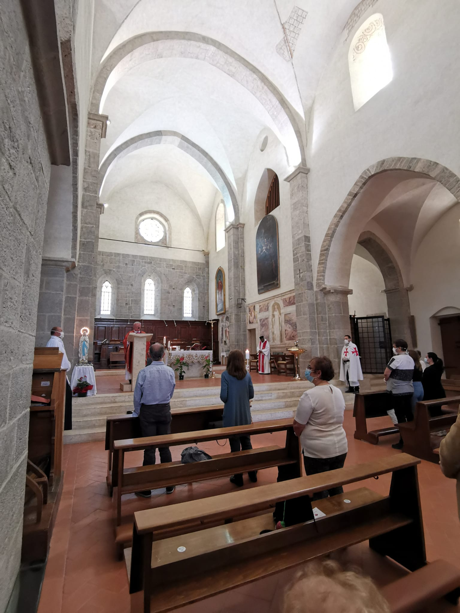 Turni di Custodia e apertura Commanderia nell'Abbazia di Valvisciolo a Sermoneta (Lt)
