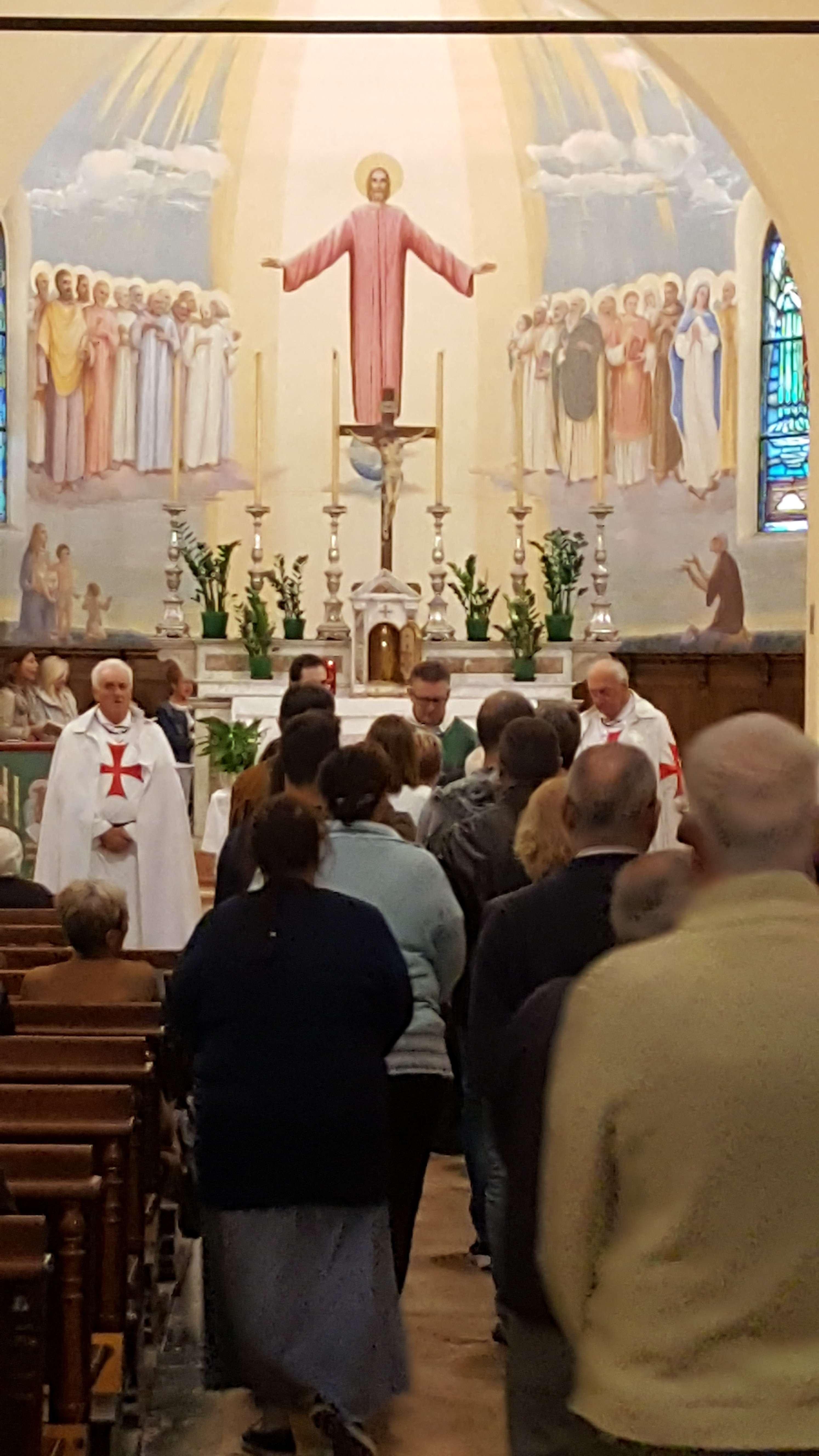 Messa chiesa s. martino Piacenza settembre 2019