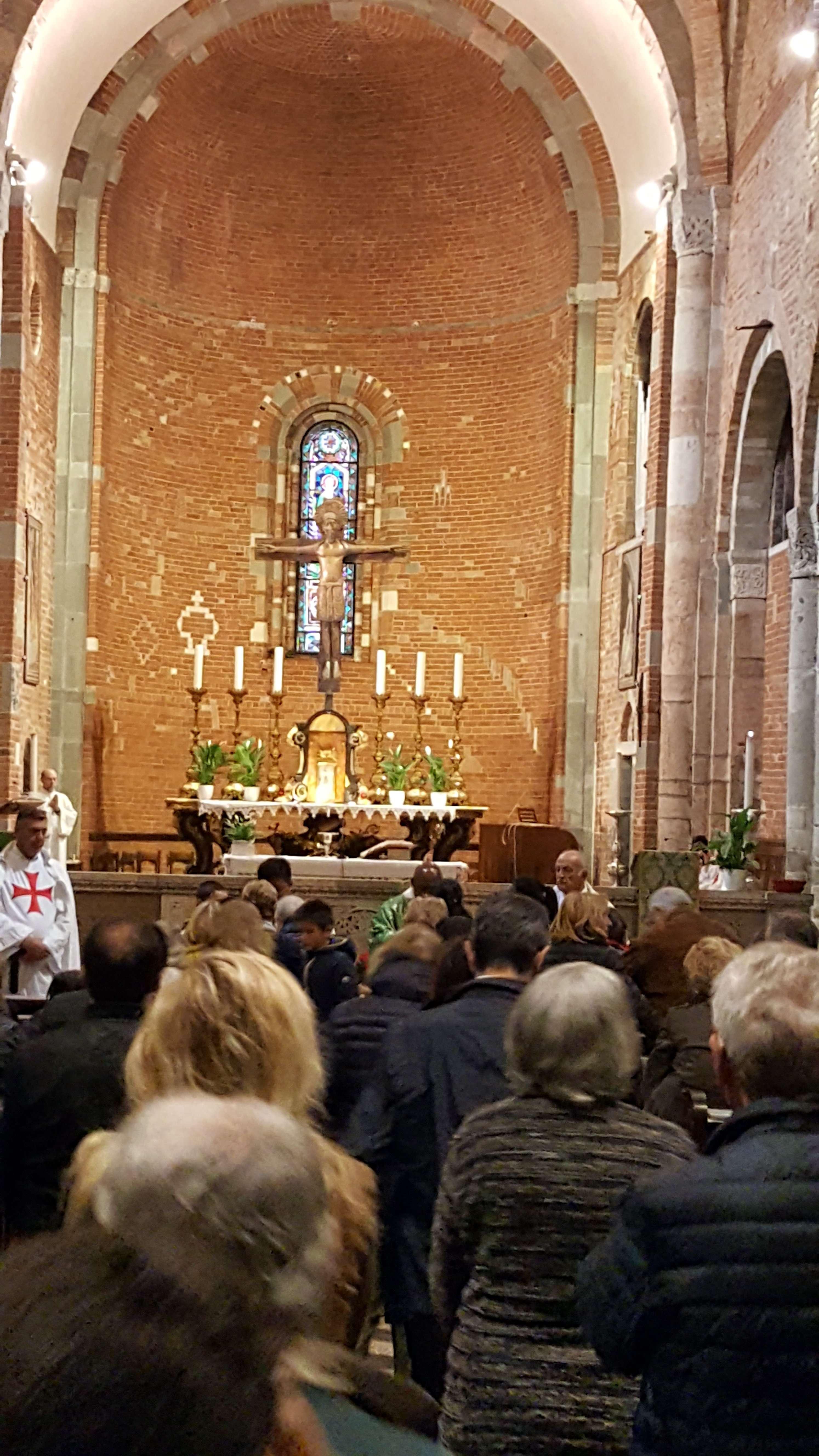 Custodia e S. Messa chiesa S. Savino (PC) ottobre 2019