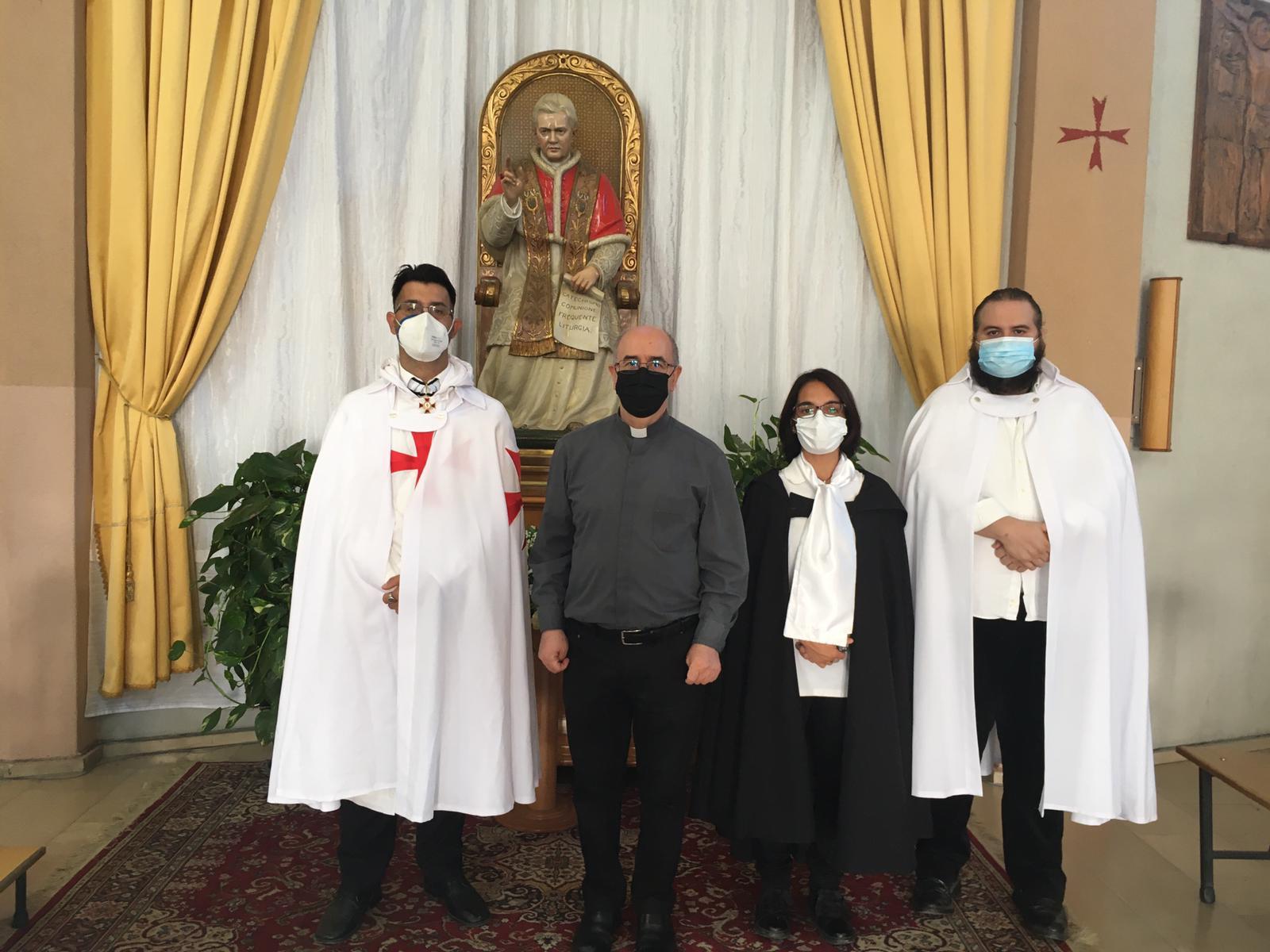 Santa Messa e turno di custodia della Chiesa di San Pio X a Cagliari (Ottobre 2021)