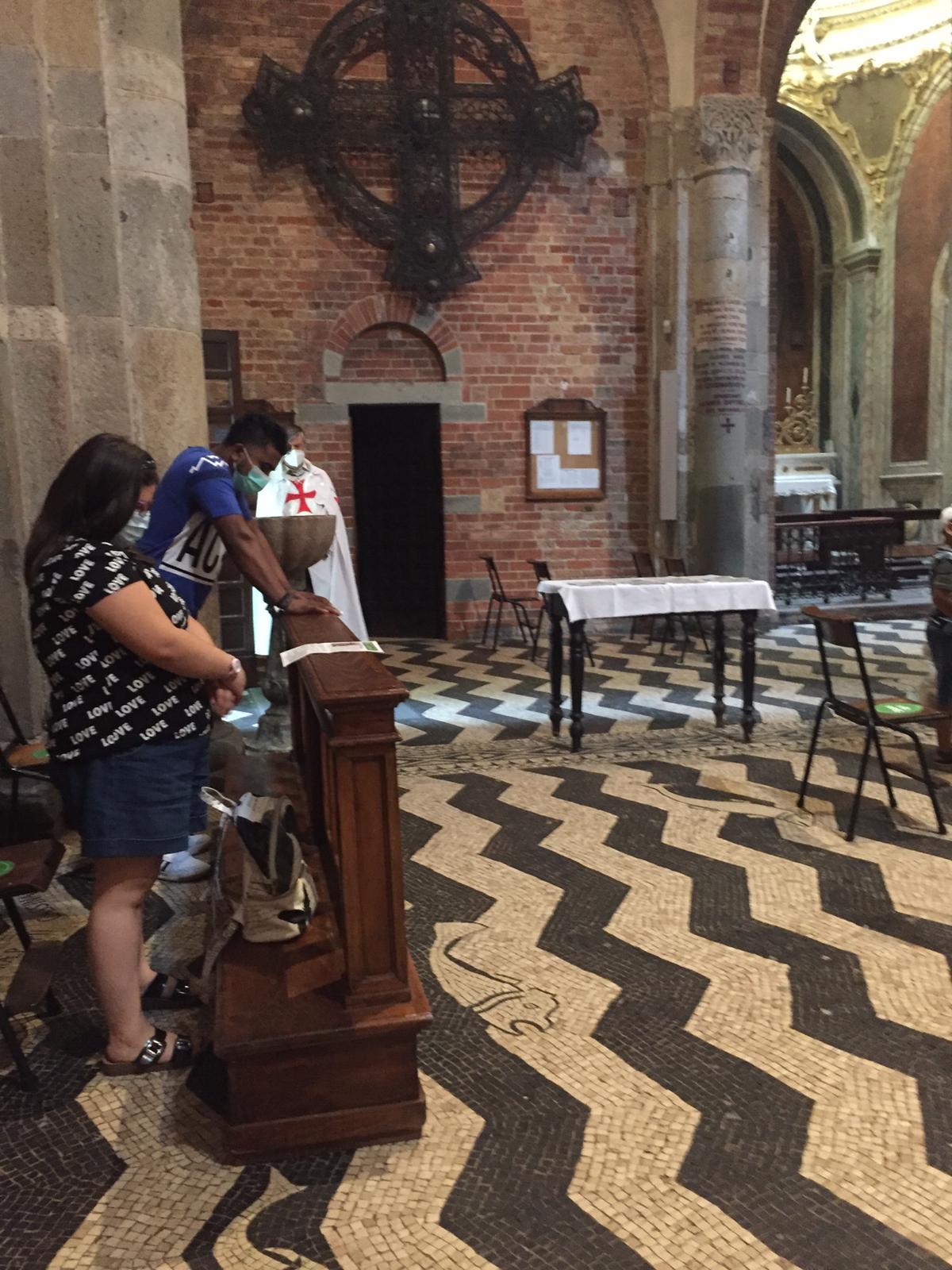 Custodia chiesa di S. Savino (PC) luglio 2020