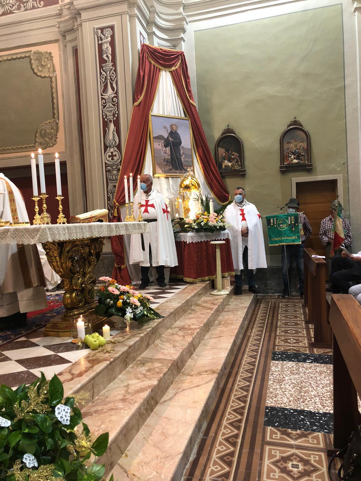 Festeggiamenti per S. Colombano in Alta Val Tidone (PC)