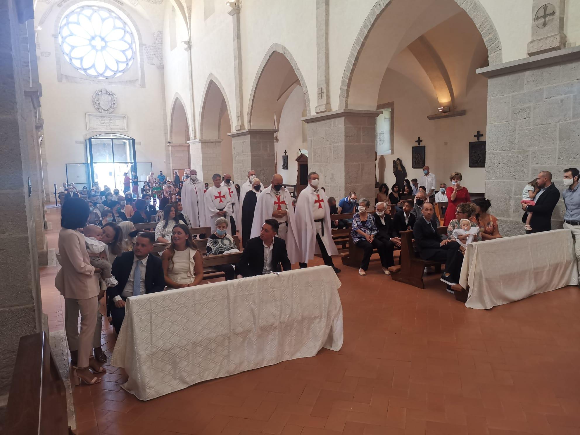 Turno di custodia nella Chiesa dell'Abbazia di Valvisciolo – Sermoneta(LT)- 06 Settembre 2020