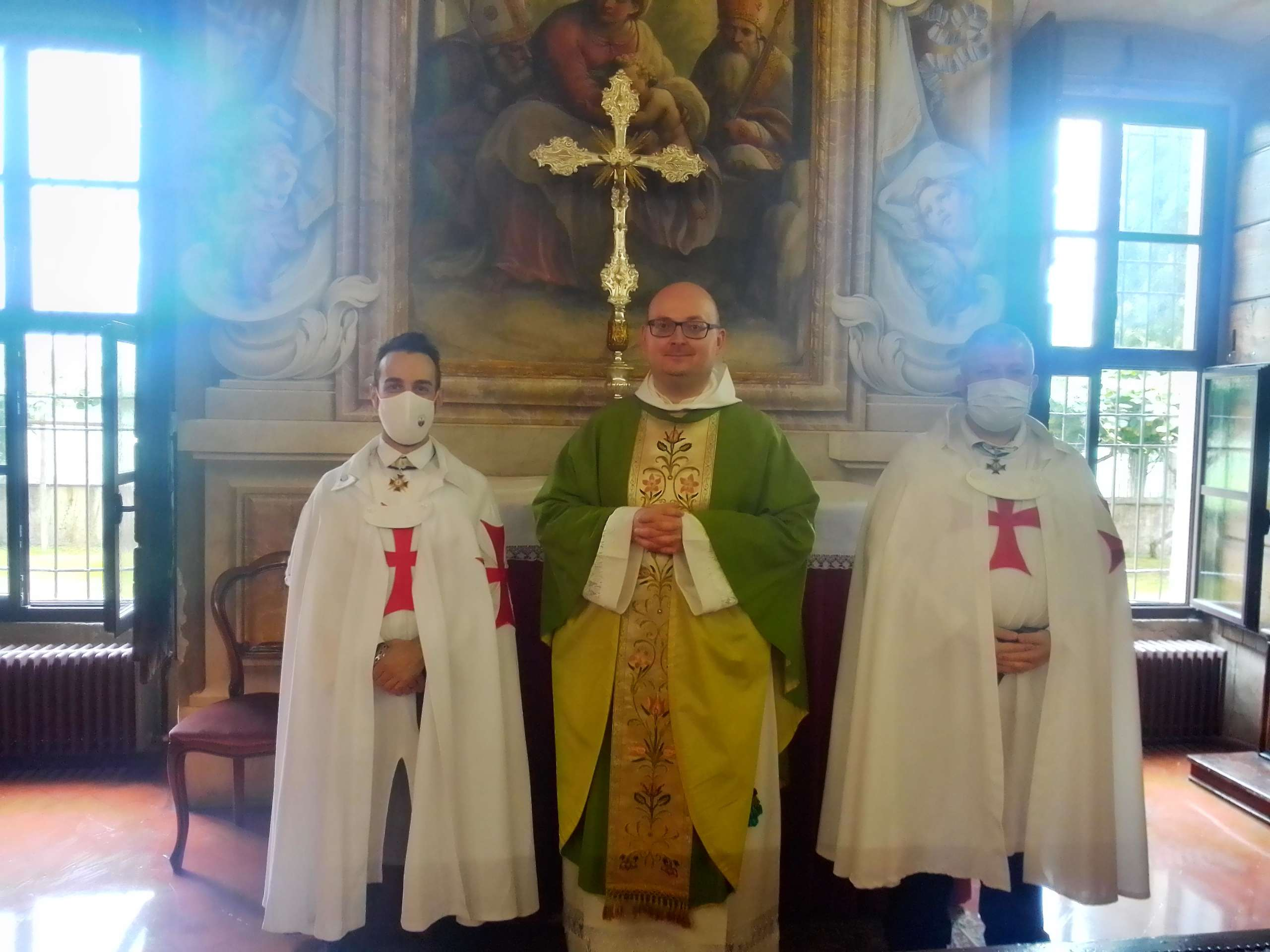 Teilnahme an der Heiligen Messe – Kirche St. Nikolaus – Benediktiner-Olivetan-Abtei – Rodengo Saiano(BS) 04.07.2021