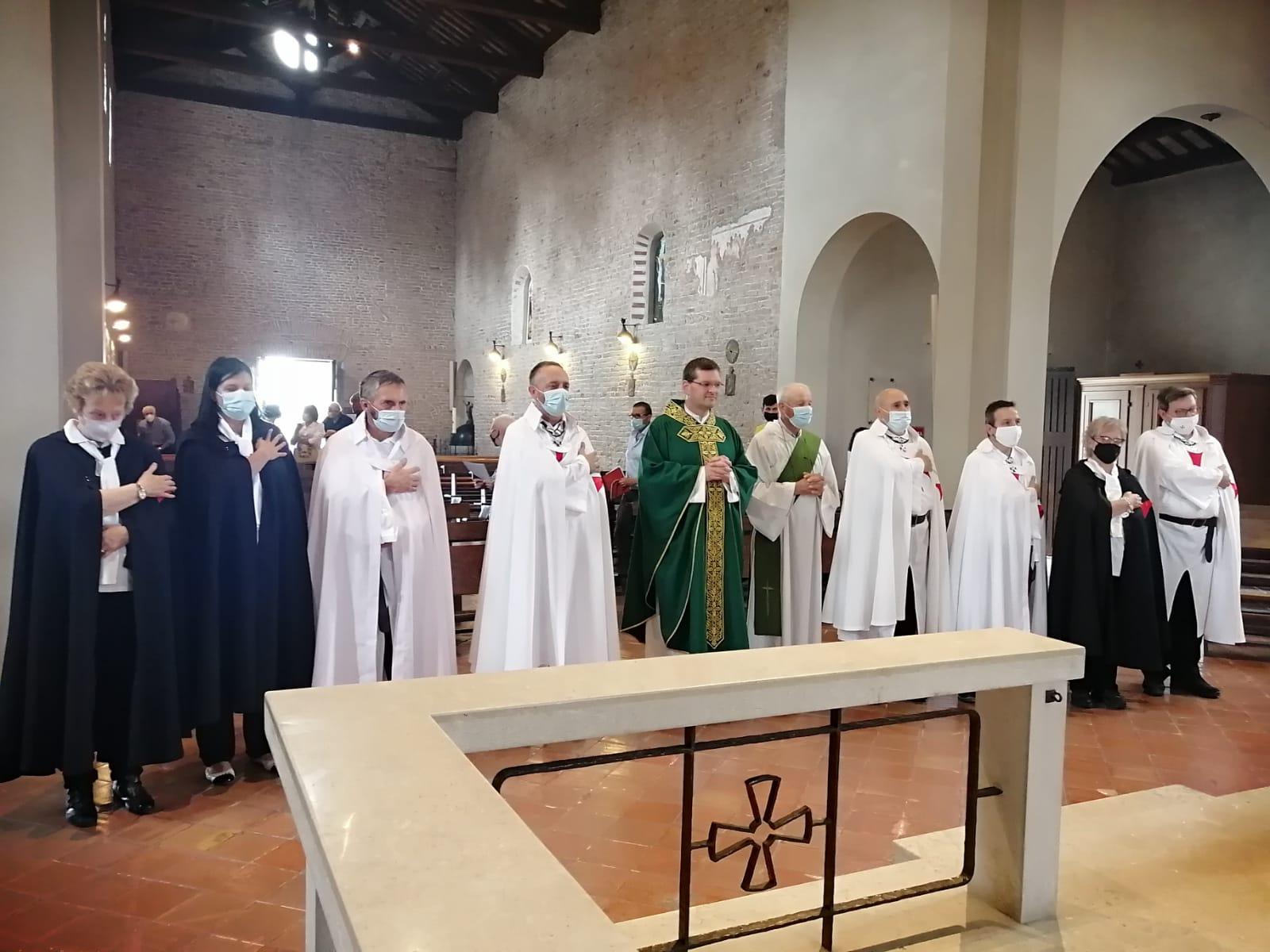Teilnahme an der Heiligen Messe – Kirche von San Giovanni Battista in Tempio – Ormelle(TV) 04.07.2021