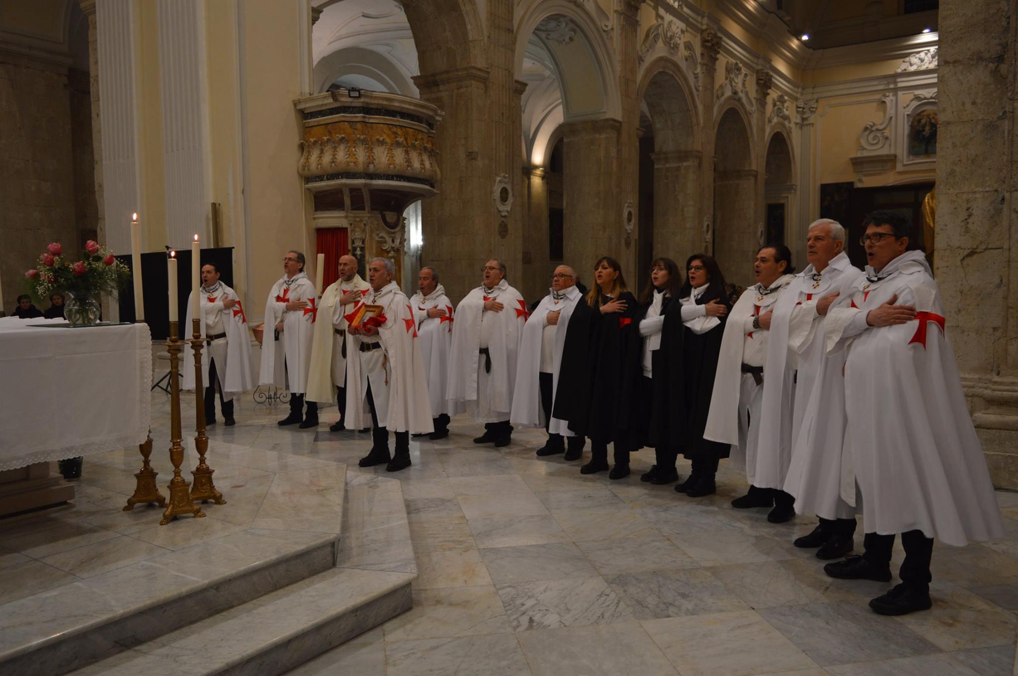 Campagna: Conferenza sulla Sacra Sindone e i Cavalieri Templari di Ieri e di Oggi