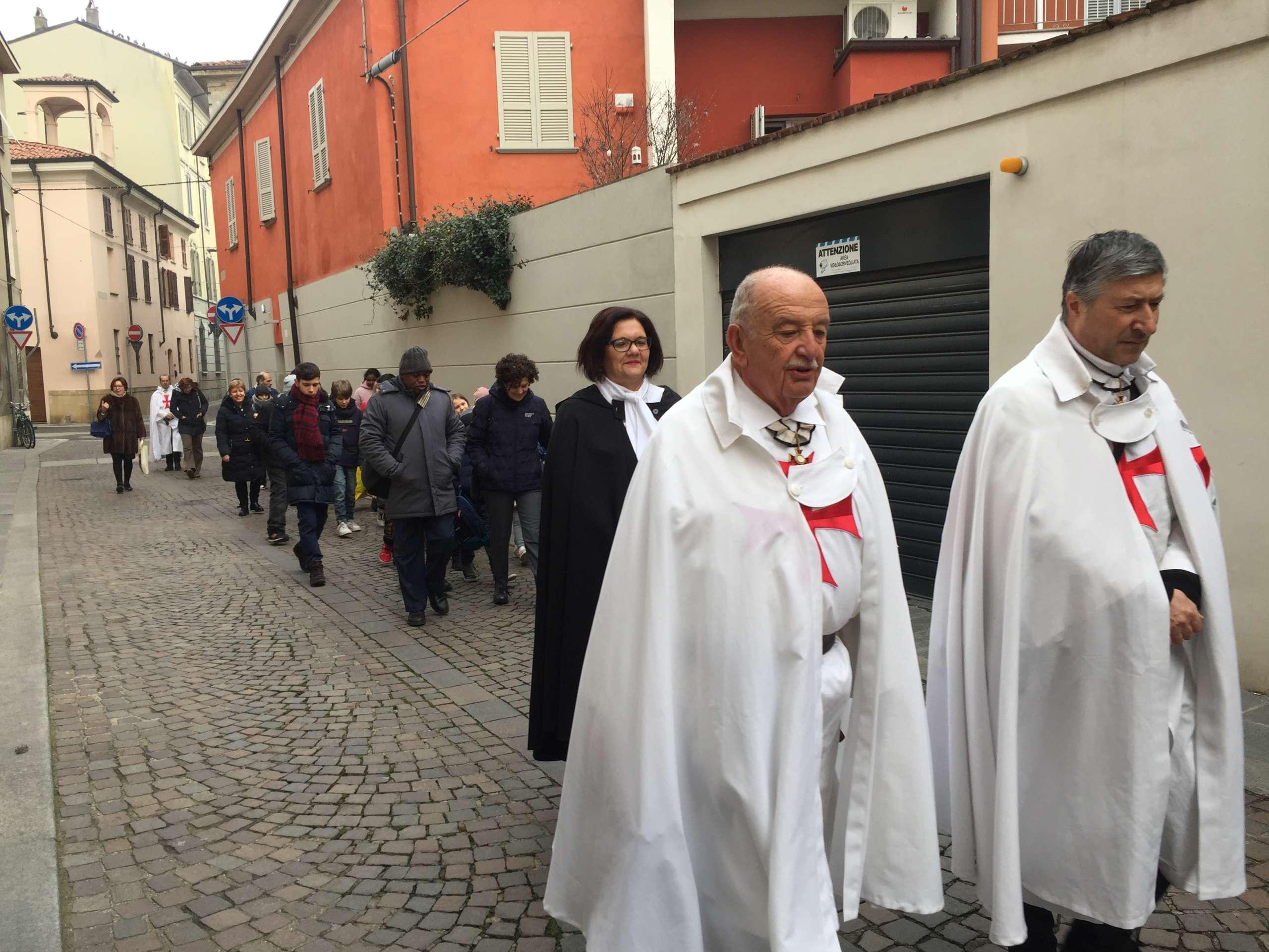 Messa S. Paolo patrono di Piacenza gennaio 2020 presso la chiesa di S. Paolo