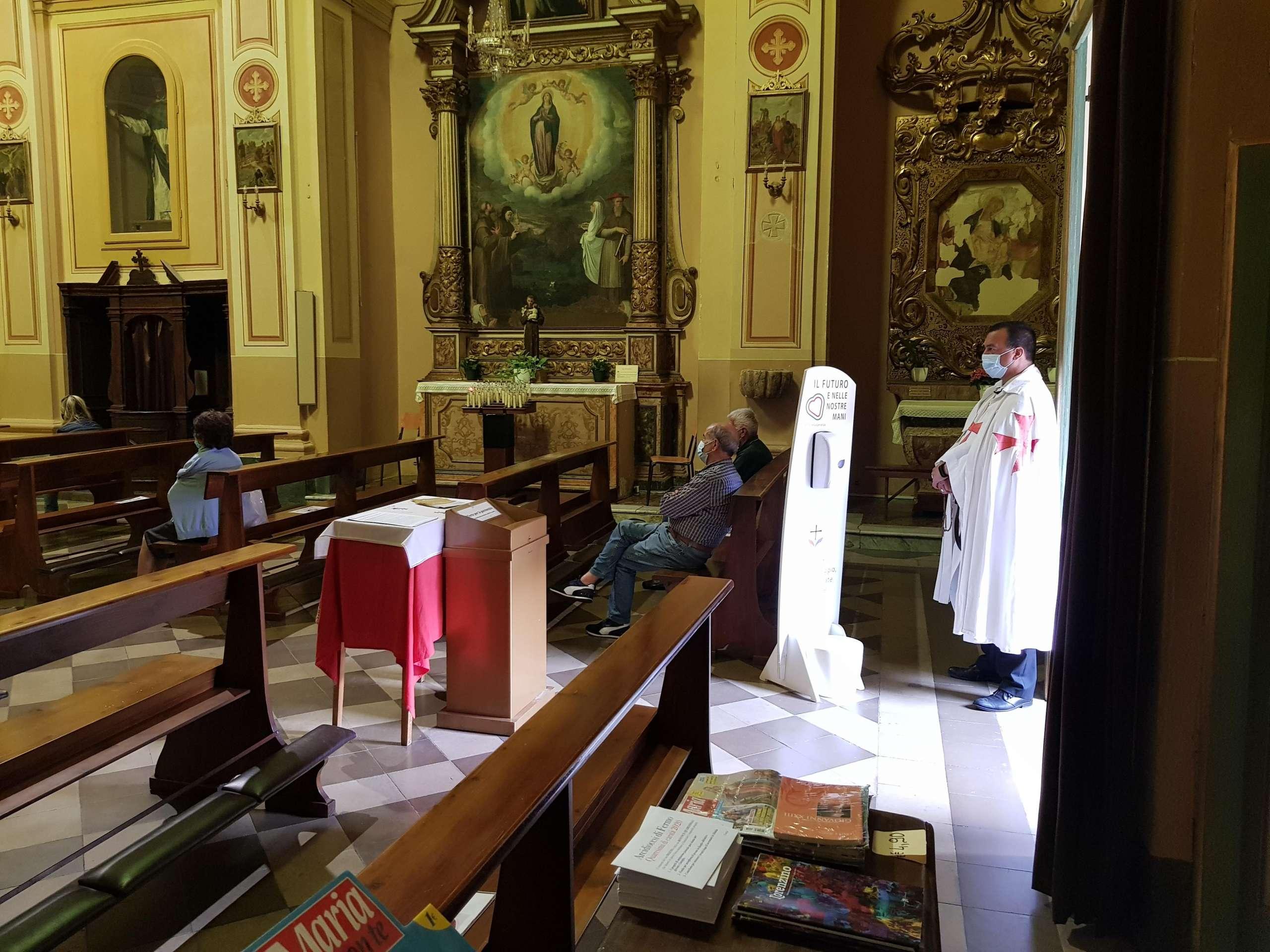 Sante Messe Domenicali delle ore 11,00 e 19,00 – Chiesa Collegiata di San Lorenzo Martire – Montecosaro (MC)