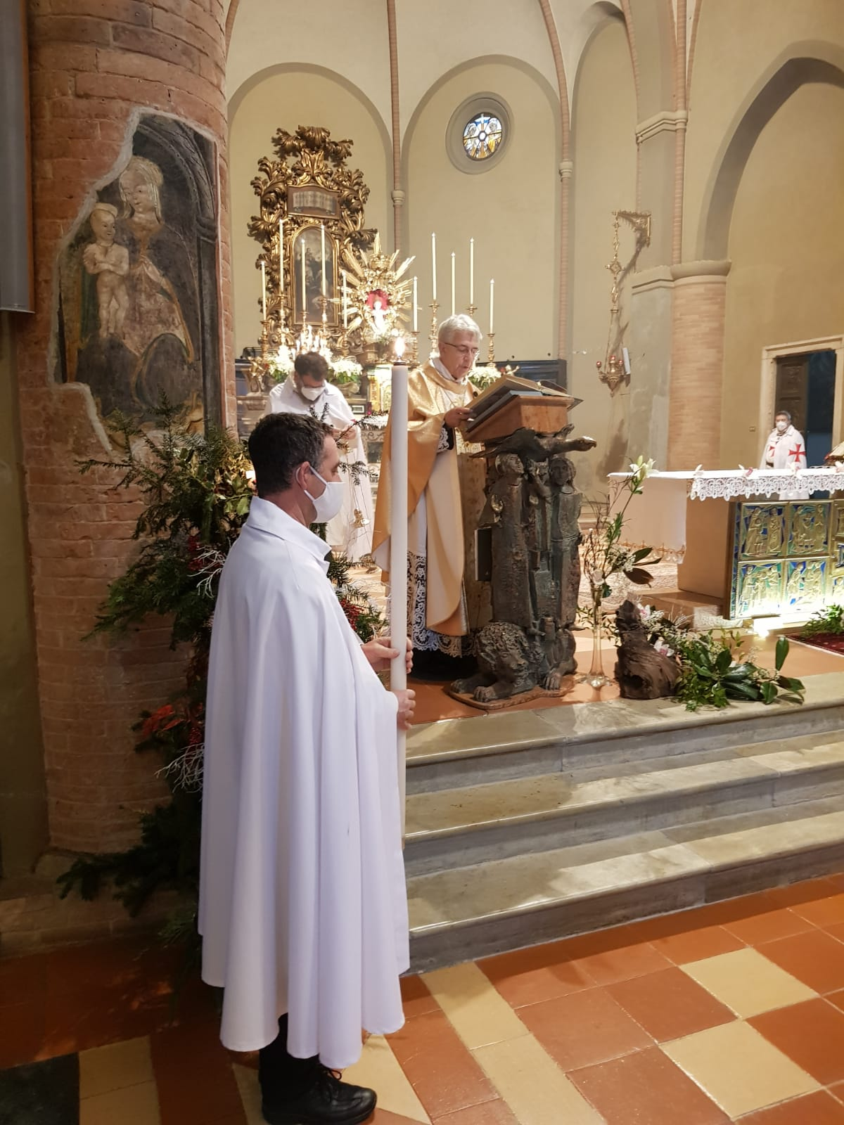 Partecipazione Santa Messa – Chiesa di S.Luca – Cremona – 06.01.2021