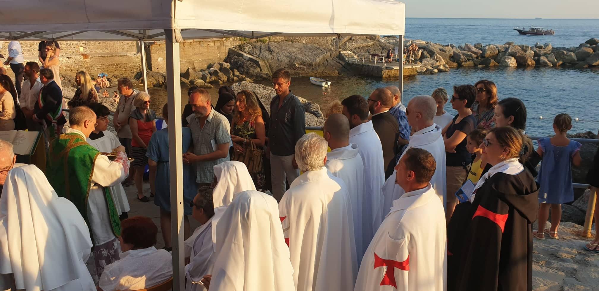 Inaugurazione del campanile consolidato e restaurato della Chiesa di San Giorgio in Tellaro (SP)
