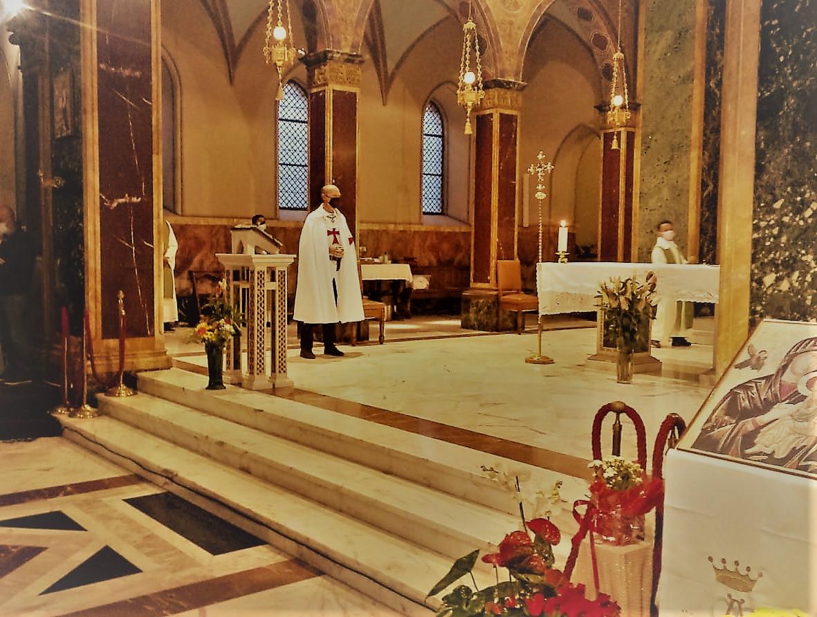Custodia – Chiesa di Sant'Alfonso all'Esquilino – Roma 10.10.2021
