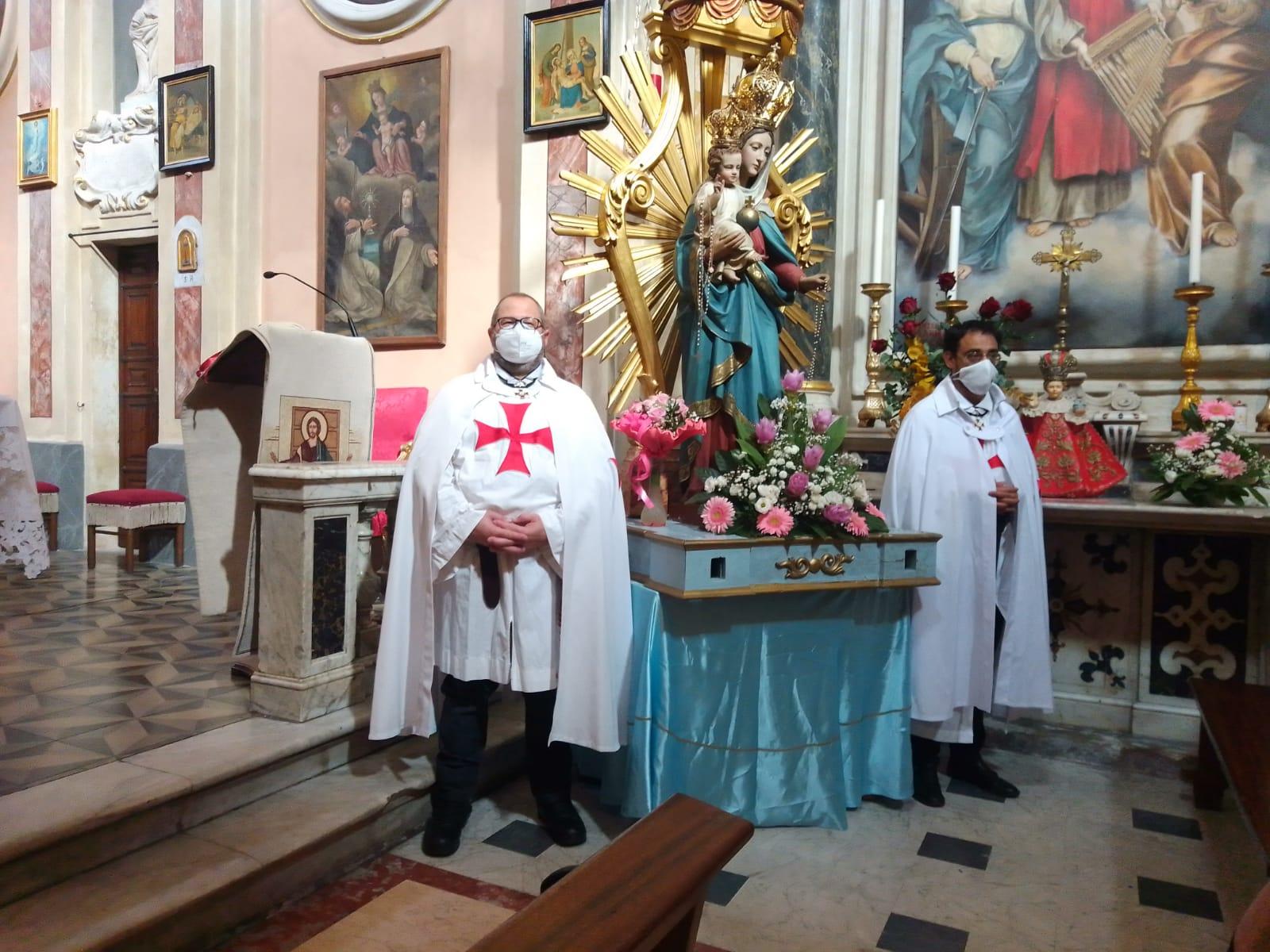 Partecipazione Festività della Madonna del Rosario – Chiesa San Tommaso Becket – Pallerone – Aulla (MS) 03.10.2021