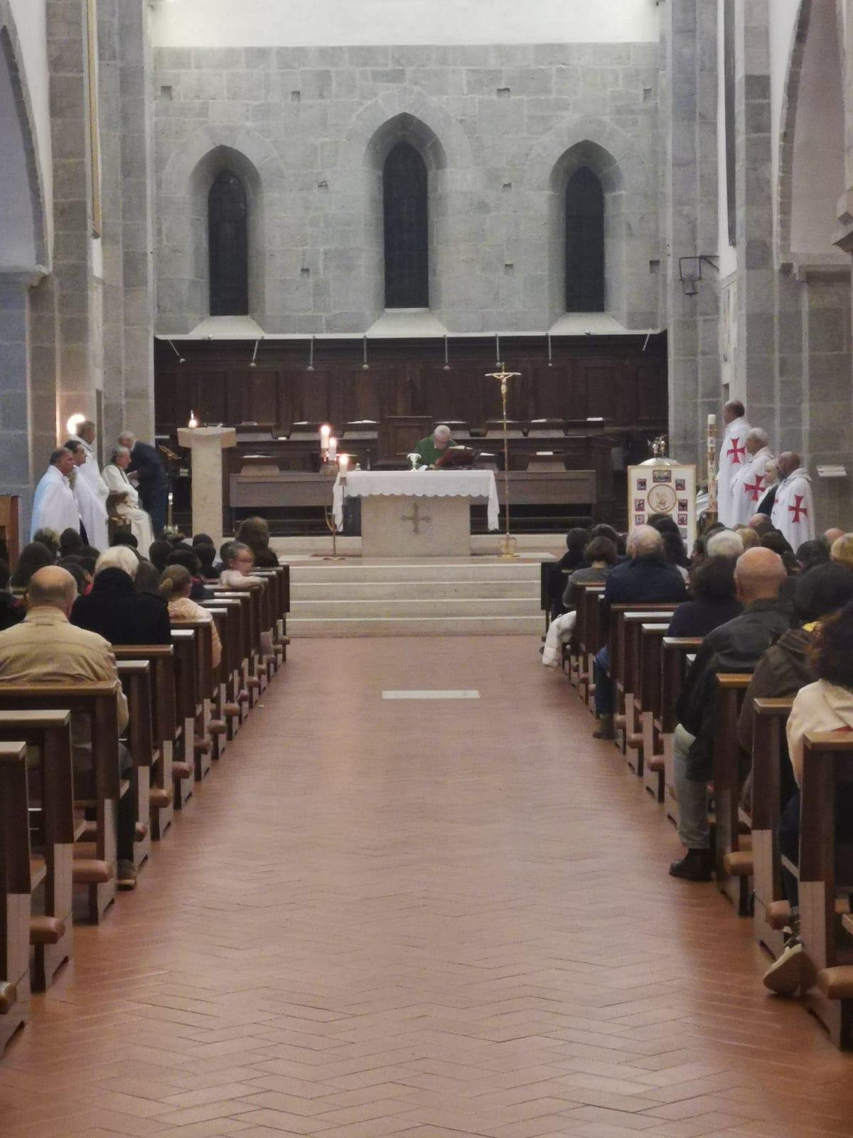 Partecipazione alla S.Messa Abbazia di Valvisciolo