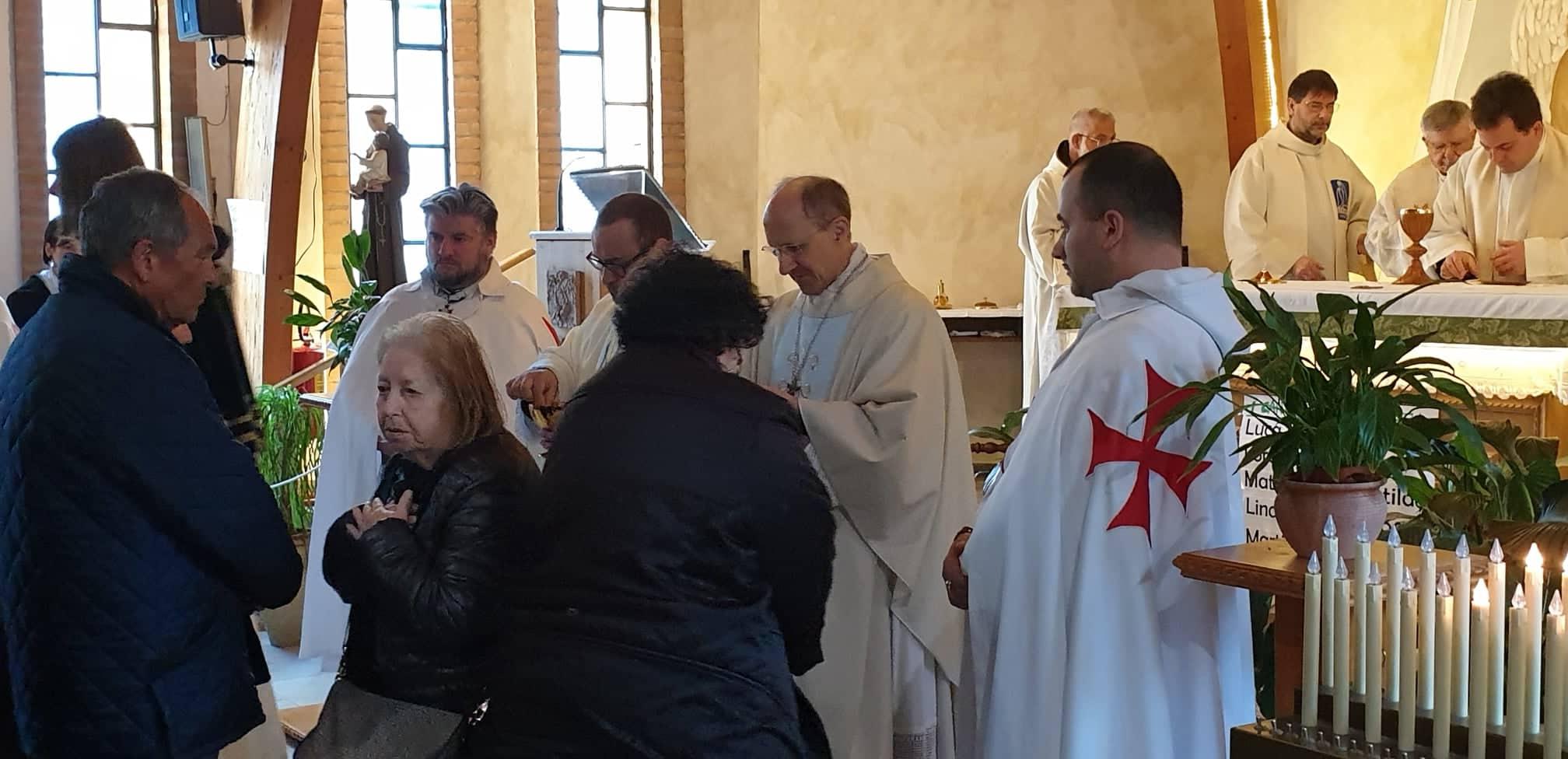 Processione e Santa Messa con S. E. Mons. Palletti Vescovo di La Spezia – Brugnato – Sarzana