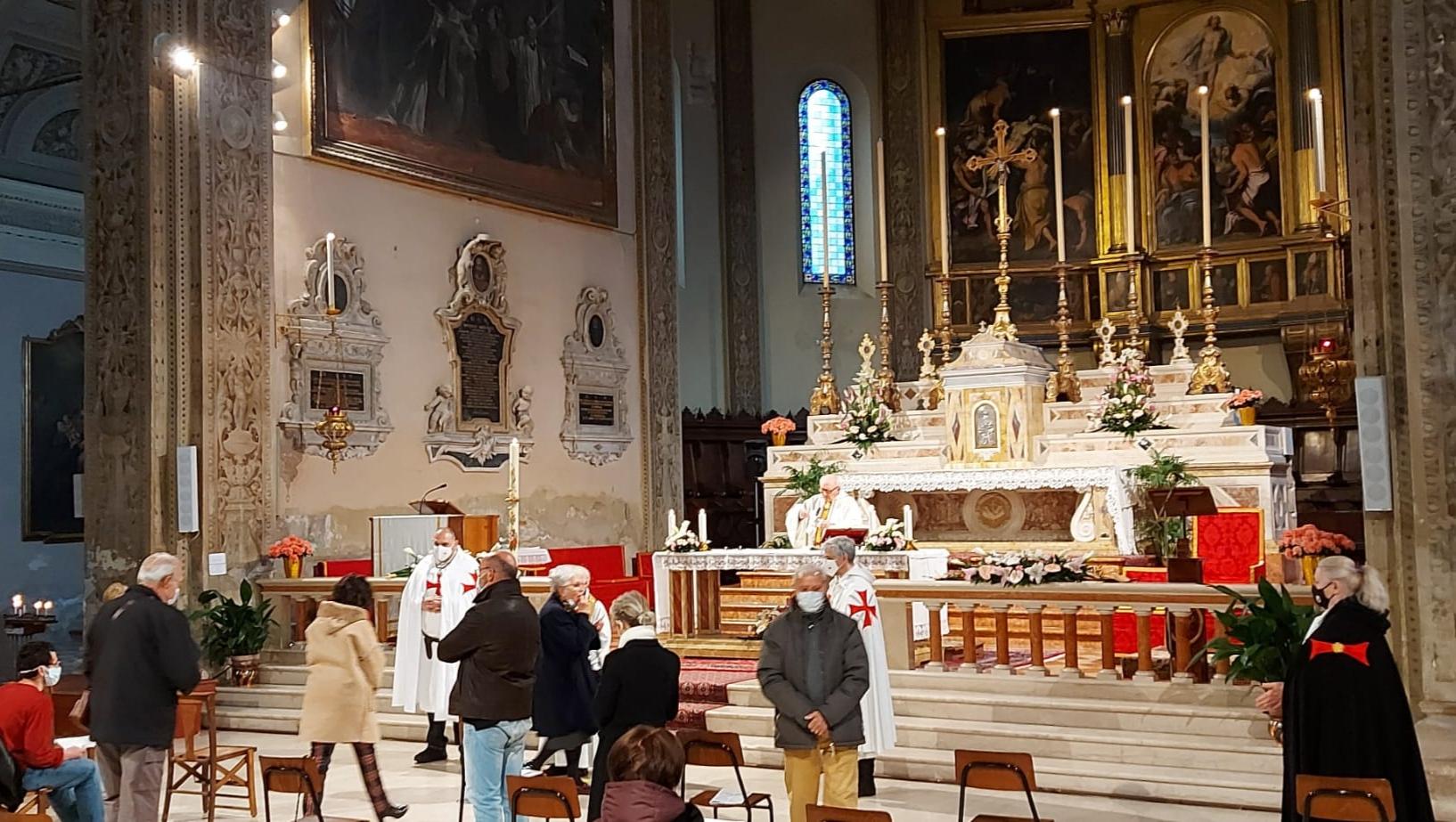 Turno di Custodia Santa Messa presso Basilica di San Francesco a Ferrara 11.04.2021
