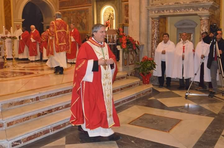 I Templari Cattolici d'Italia partecipano alla Celebrazione Eucaristica presso la Basilica Cattedrale Santa Maria del Lauro Cassano allo Jonio