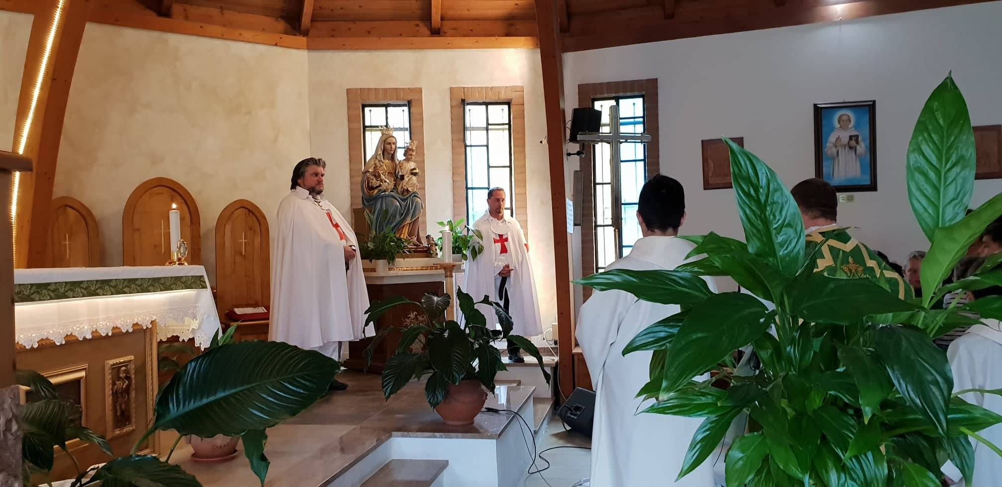 Inizio del nuovo anno di Catechismo nella Chiesa Cattolica Parrocchiale della Beata Vergine del Carmine