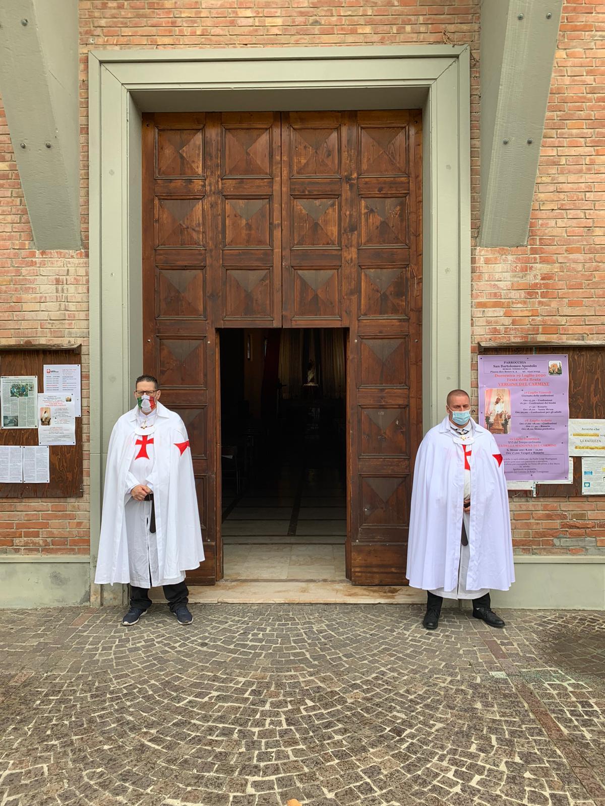 Custodia della Chiesa di San Bartolomeo Apostolo – Borgo Tossignano (BO) 12.07.2020