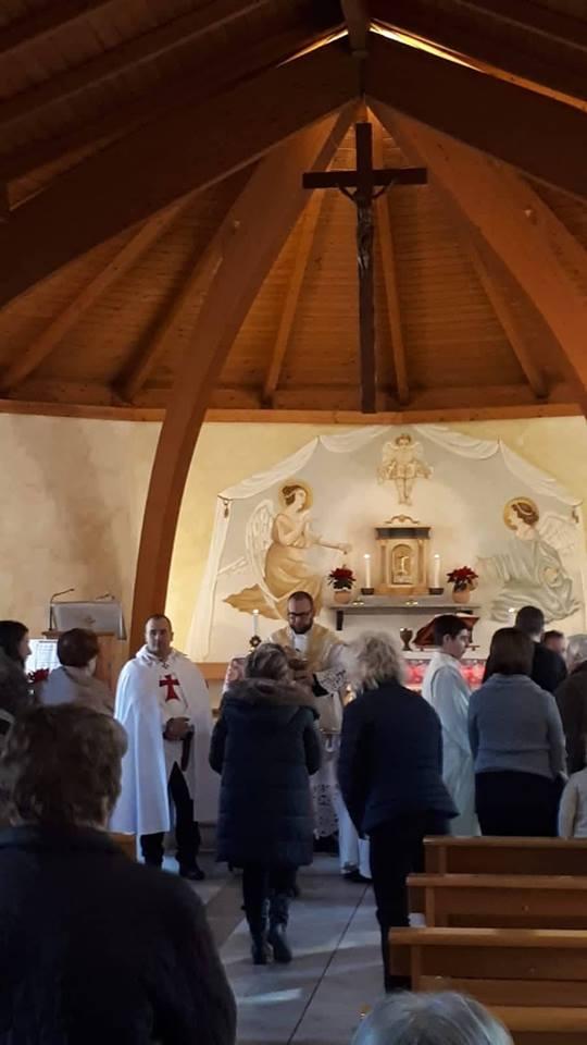 Santa Messa nel giorno dell'Epifania nella Chiesa Cattolica Parrocchiale della Beata Vergine del Carmine – La Spezia