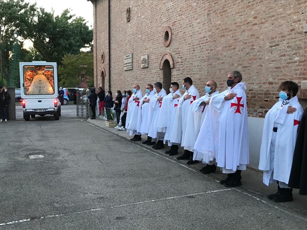 Partecipazione Santa Messa in onore della Madonna del Piratello – Chiesa dell'Annunciazione Vergine Maria – Pontesanto(BO) 12.05.2021