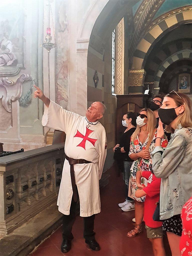 Accoglienza visitatori presso il Duomo di Bobbio (PC) 12.09.2021