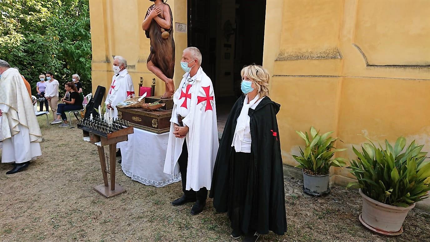 Partecipazione Santa Messa e processione in onore del Beato Orlando de Medici a Bargone frz. di Salso Maggiore Terme (PR) 13.09.2021