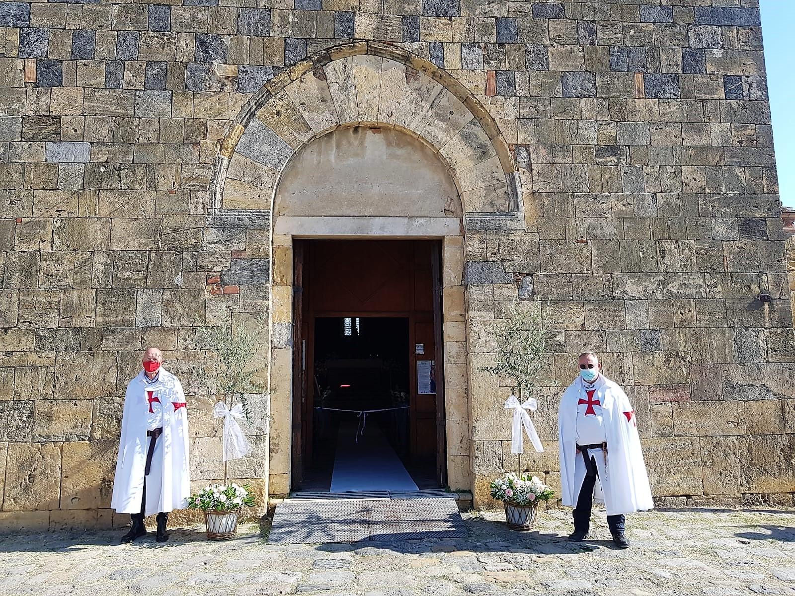 Custodia dell'abbazia dei Santi Salvatore e Cirino ad Abbadia Isola e della chiesa di Santa Maria Assunta a Monteriggioni (Siena) 12.09.2021