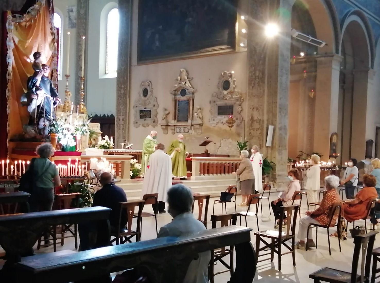 Turno di custodia – Basilica di San Francesco – Ferrara 13.06.2021
