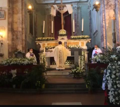Custody of the Church of Saints Martin and Sixtus in Vellano Pescia and Easter Mass of Resurrection 2020